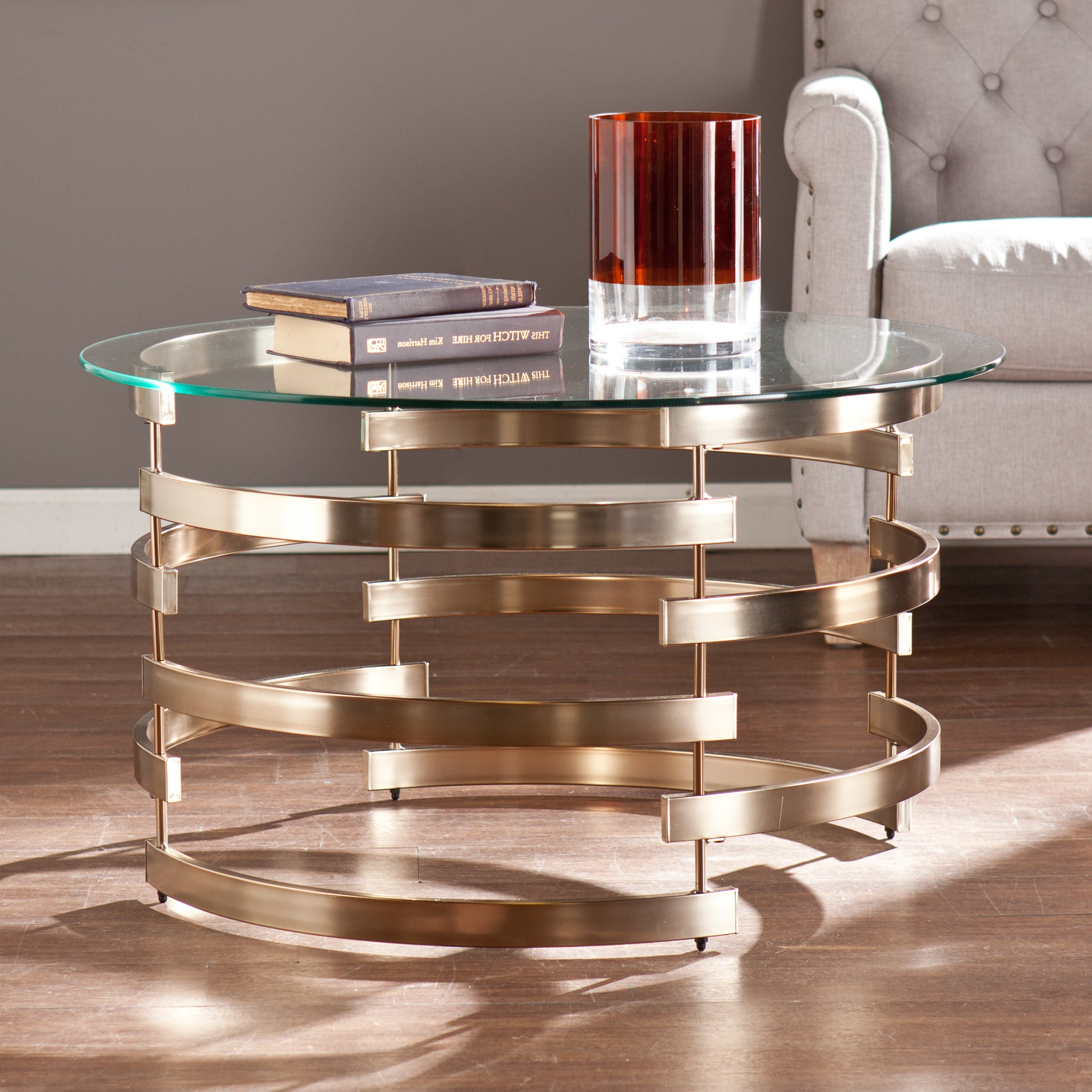 Most Recently Released Silver Orchid Bardeen Round Coffee Tables For Silver Orchid Grant Cocktail/ Coffee Table (View 7 of 20)