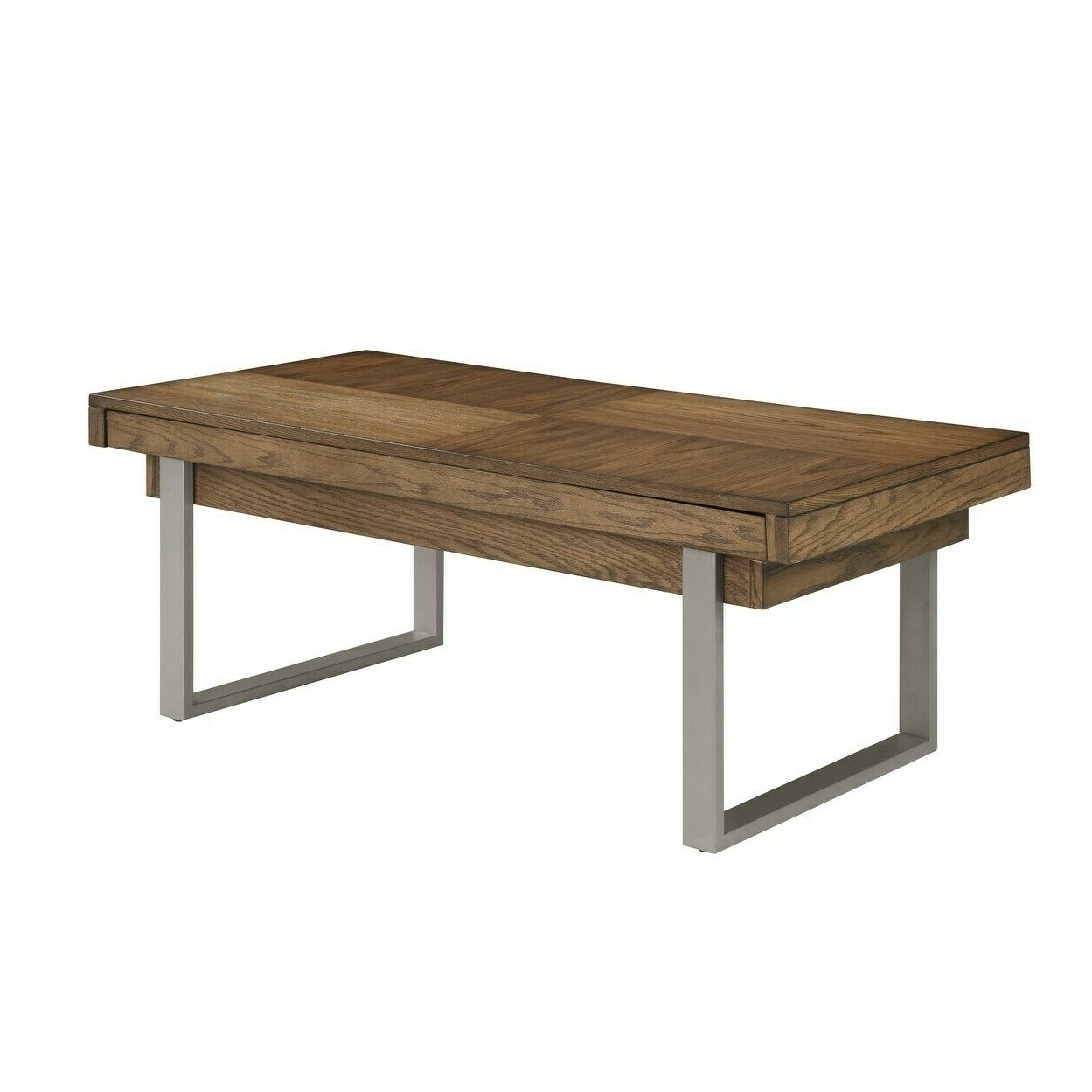 Most Recently Released Strick & Bolton Sylvia Geometric High Gloss Coffee Tables For Strick & Bolton Kramer Golden Oak Coffee Table Brown (View 8 of 20)