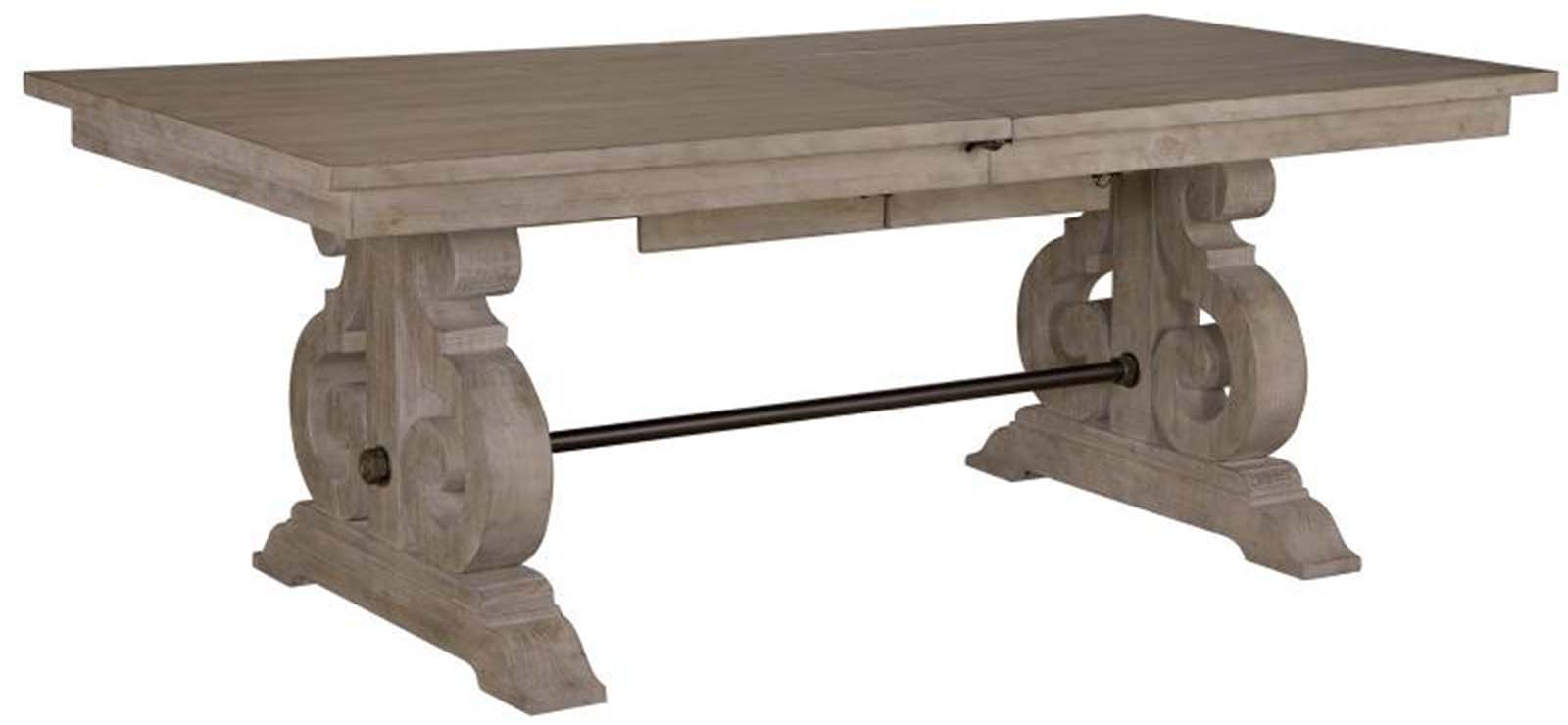 Most Recently Released Tinley Park Traditional Dove Tail Grey Coffee Tables Throughout Magnussen Furniture Tinley Park Rectangular Dining Table In Dove Tail Grey D4646 (View 13 of 20)