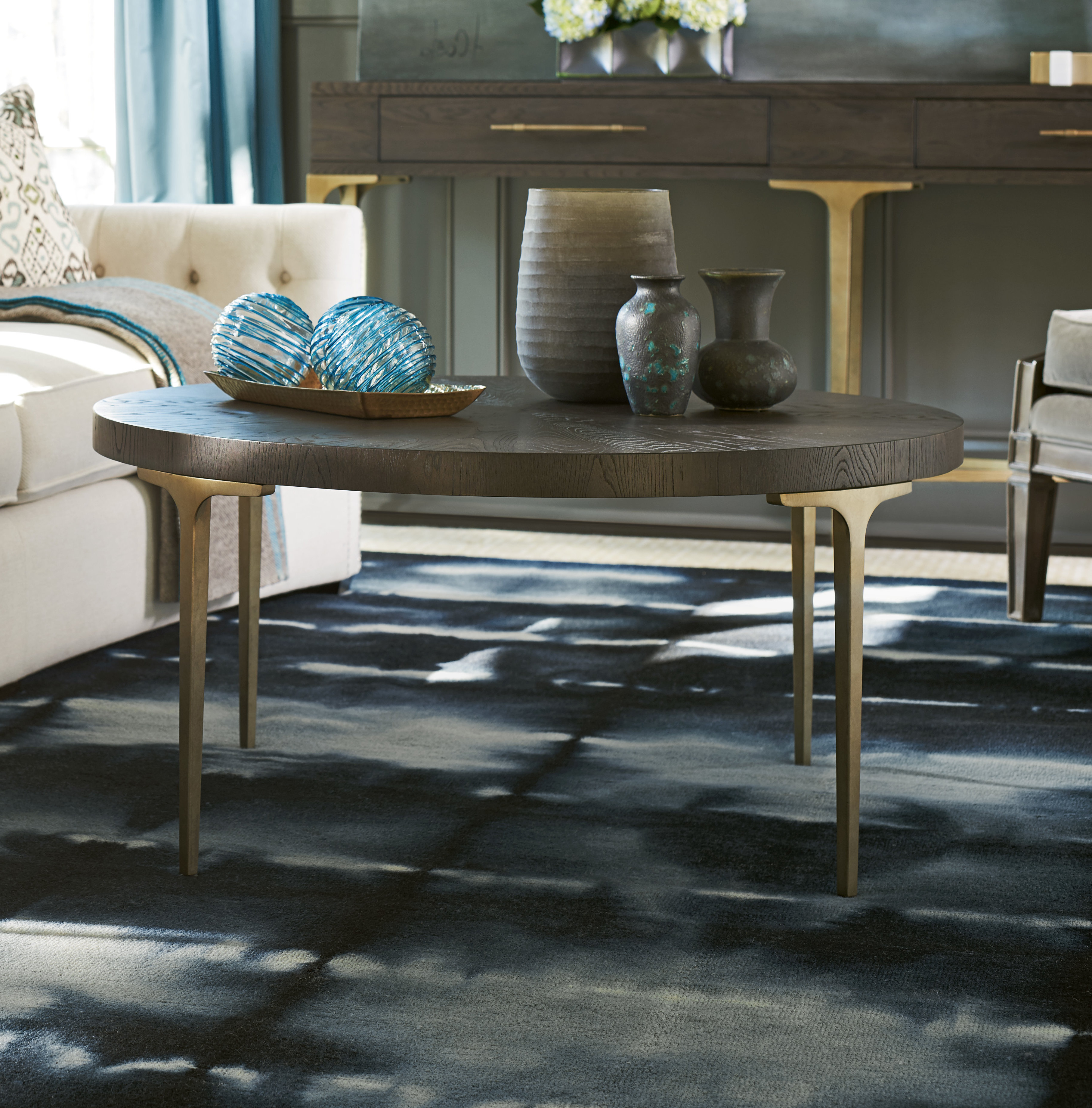 Most Up To Date Arella Ii Modern Distressed Grey White Coffee Tables With Regard To Cowan Coffee Table (View 18 of 20)
