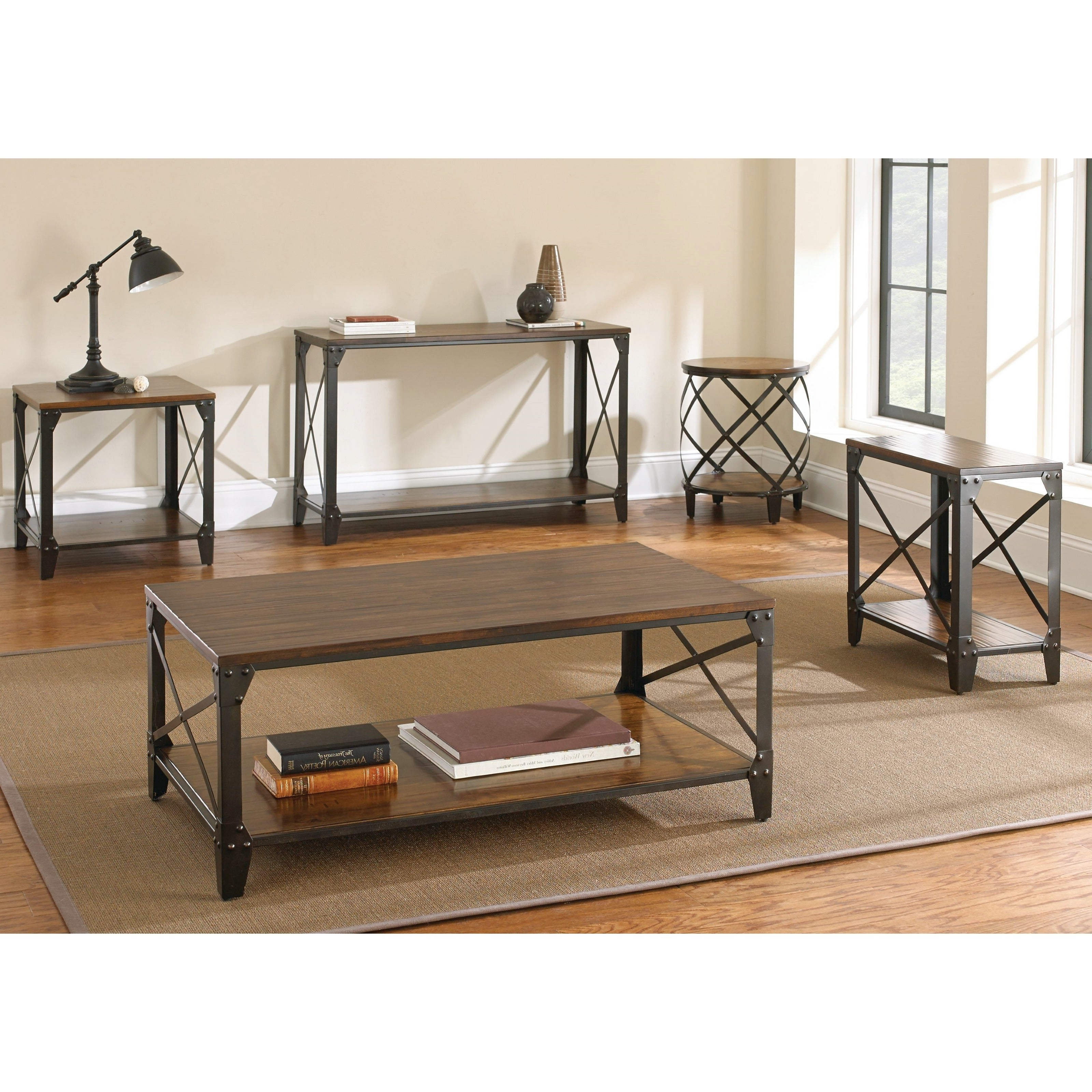 Most Up To Date Carbon Loft Fischer Brown Solid Birch And Iron Rustic Coffee Tables Pertaining To Carbon Loft Fischer Brown Solid Birch And Iron Rustic Coffee Table (View 15 of 20)