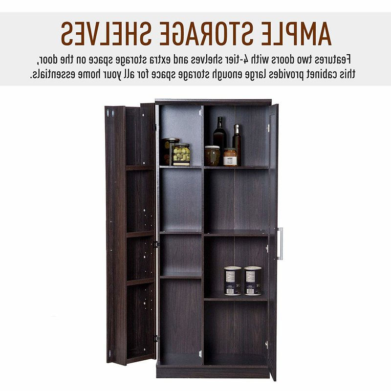 """Most Up To Date Eduarda Kitchen Pantry For Eduarda 72"""" Kitchen Pantry (View 3 of 20)"""