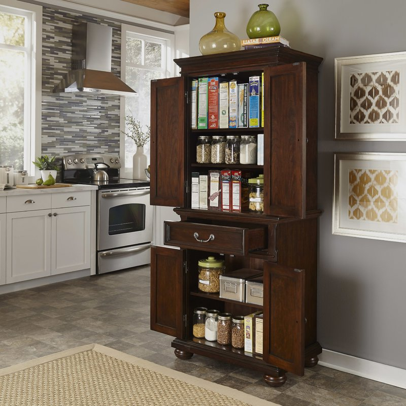 "Most Up To Date Givens 72"" Kitchen Pantry Throughout Ridenhour Kitchen Pantry (View 8 of 20)"