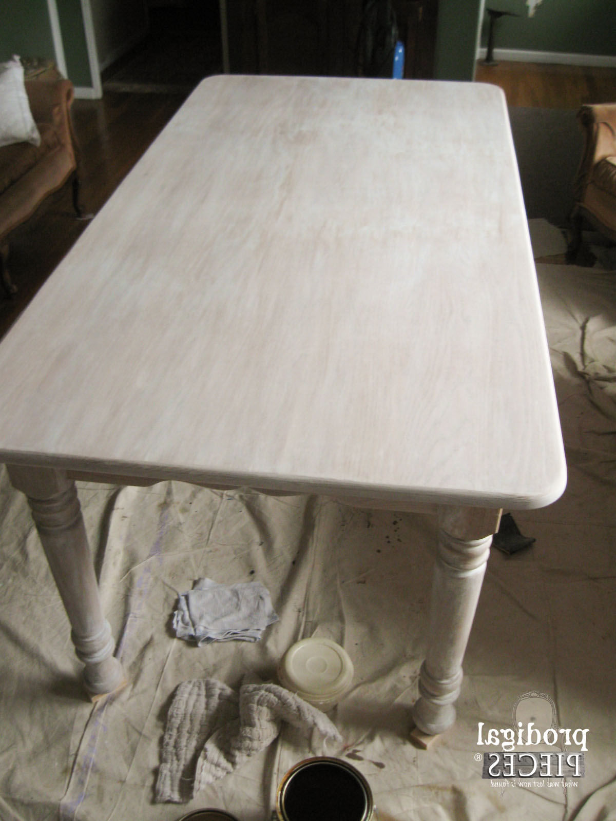 Most Up To Date Handmade Whitewashed Stripped Wood Tables In Whitewashed (Or Limewashed) Wood – Prodigal Pieces (View 9 of 20)