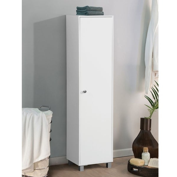Most Up To Date Shop Aaronsburg White Kitchen Storage Cabinet – Free With Regard To Aaronsburg Kitchen Pantry (View 15 of 20)
