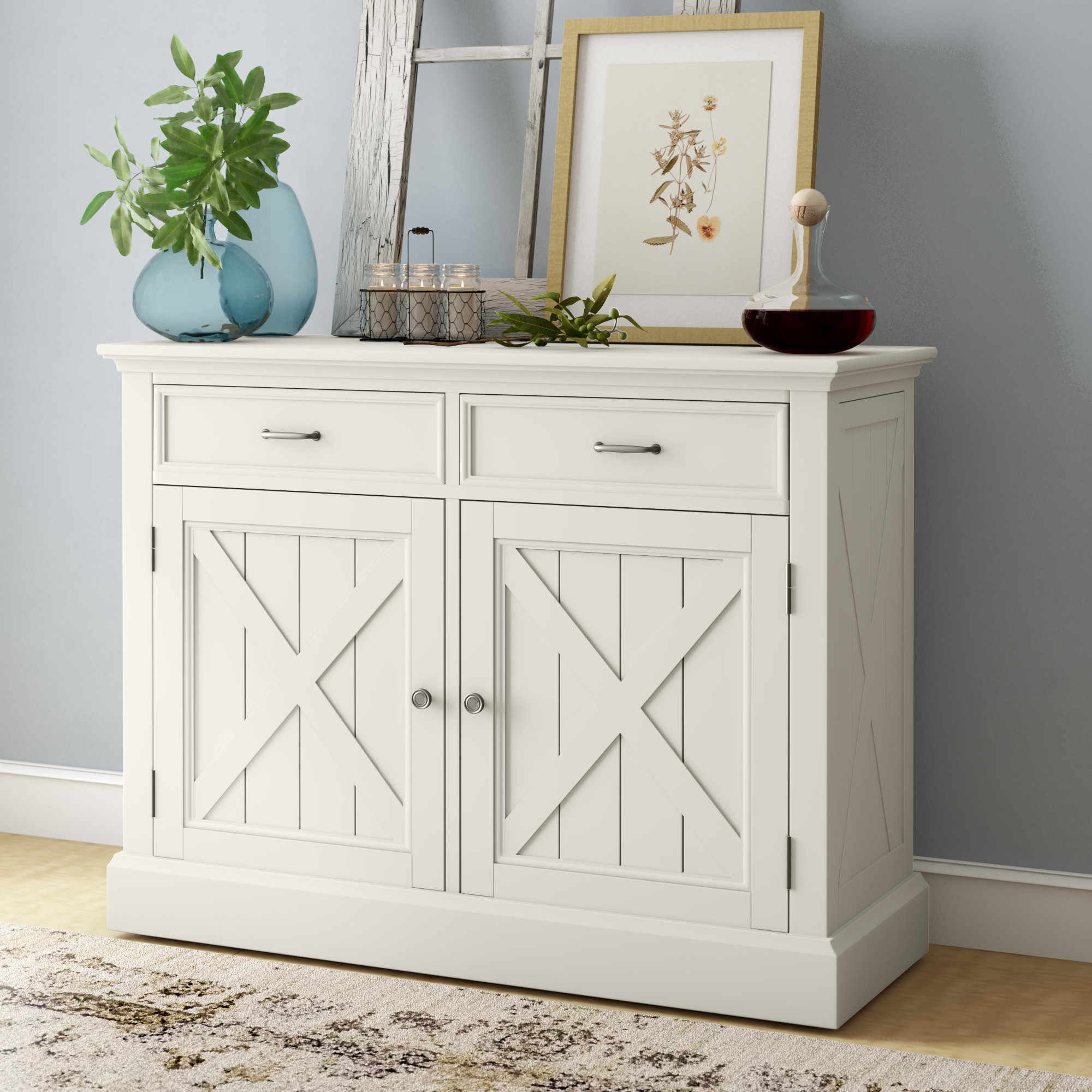 Narrow Buffet Table | Wayfair Pertaining To Malcom Buffet Table (View 14 of 20)