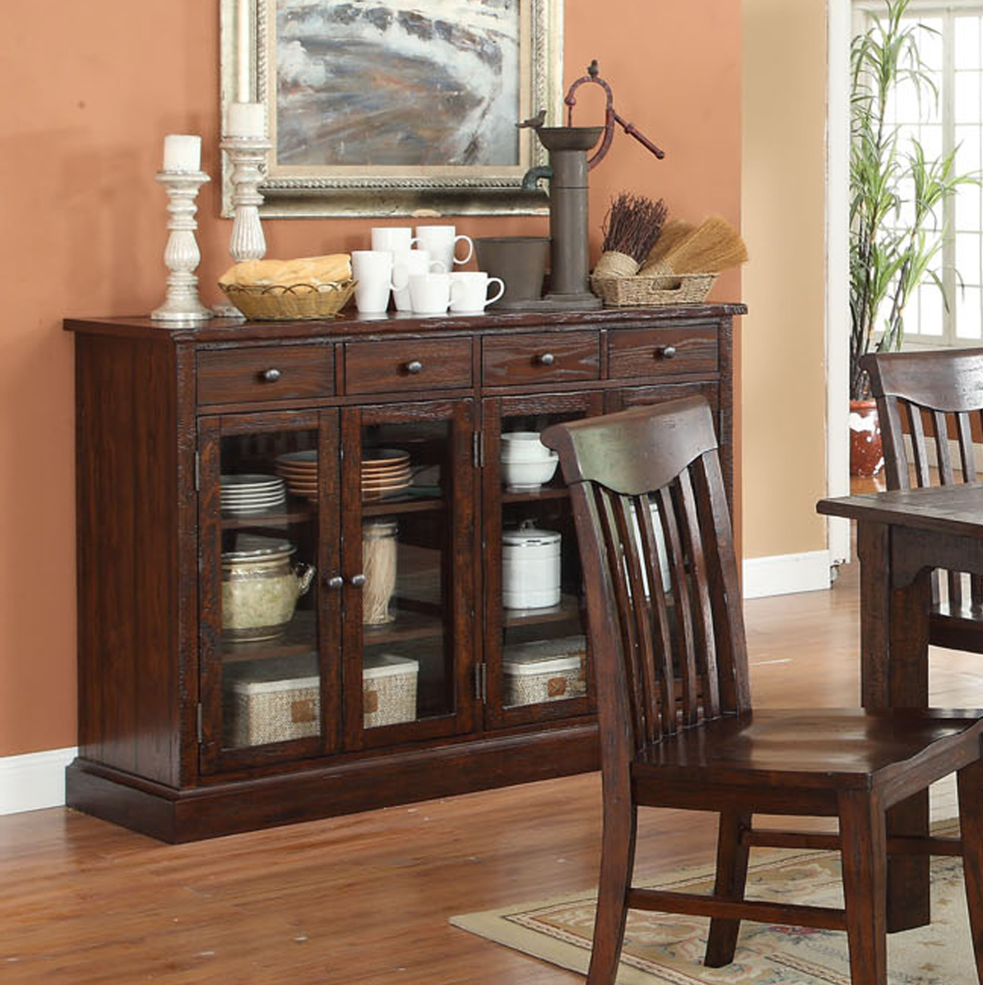 Narrow Dining Room Sideboards | Wayfair Inside Pineville Dining Sideboards (View 7 of 20)