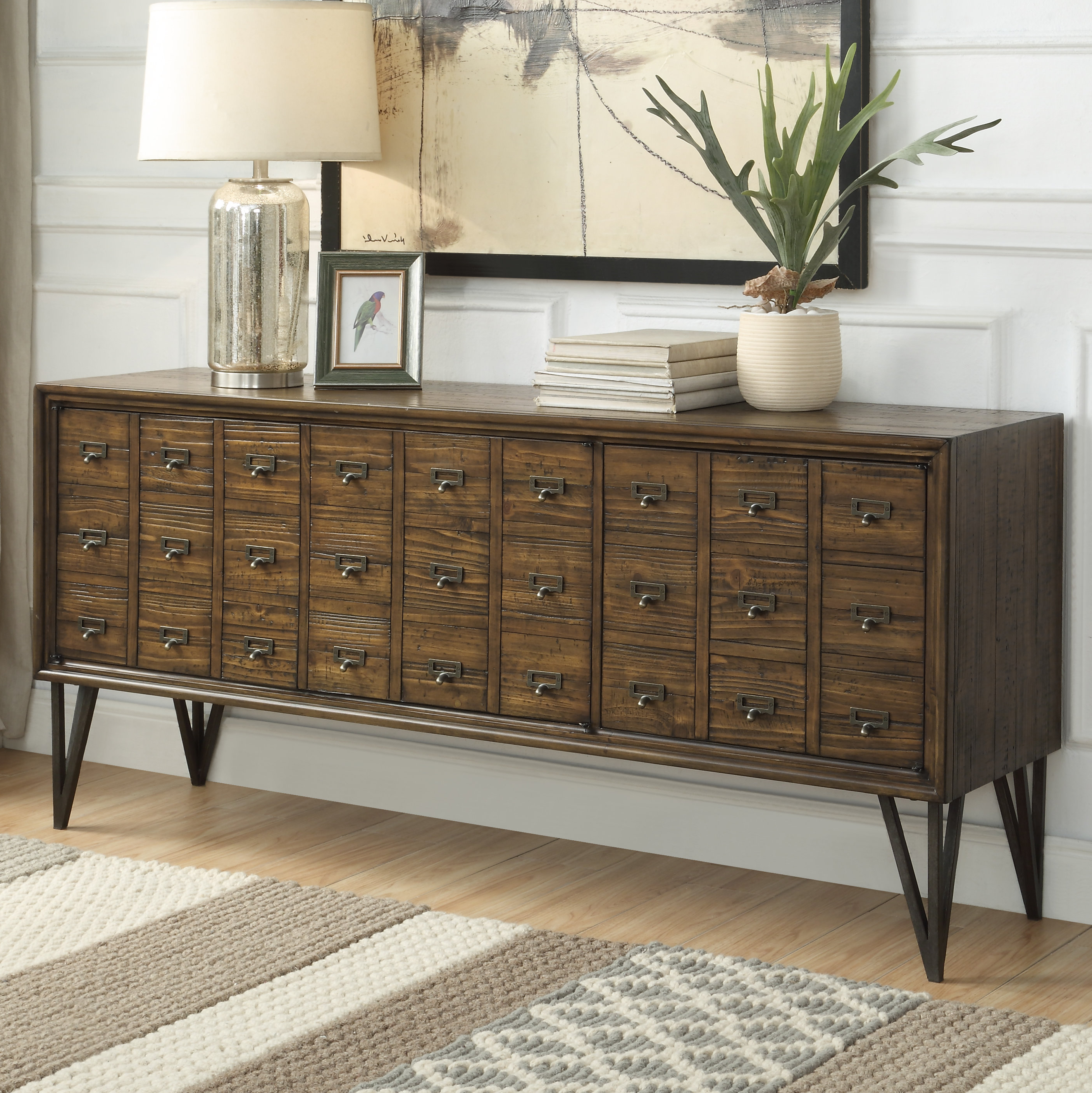 Narrow Dining Room Sideboards | Wayfair Intended For Pineville Dining Sideboards (View 5 of 20)