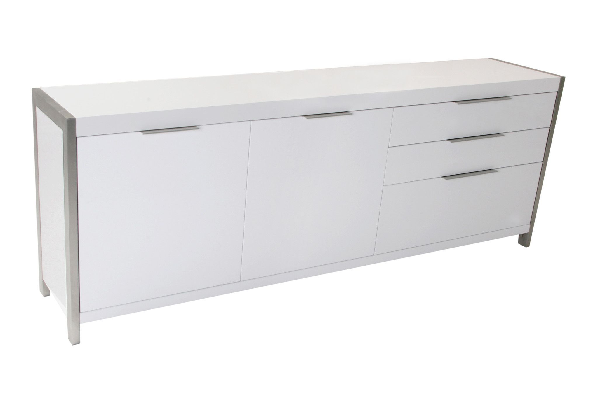 Neo Sideboard White | Products | White Sideboard, Moe's Home With Damian Sideboards (View 19 of 20)