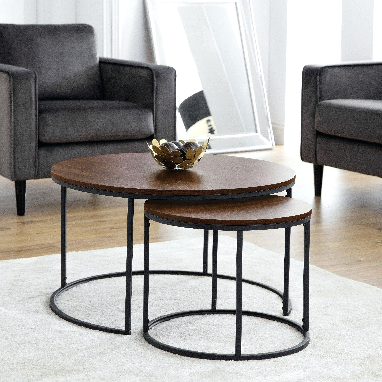 Nesting Coffee Tables Round – Tradepage (View 14 of 20)