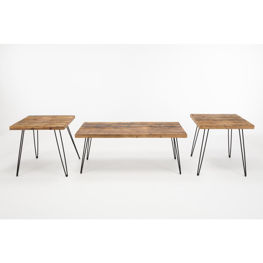 Newest Carbon Loft Lee Reclaimed Fir Eastwood Tables For Eastwood Natural Wood Finish Reclaimed Fir Coffee And End (View 11 of 20)