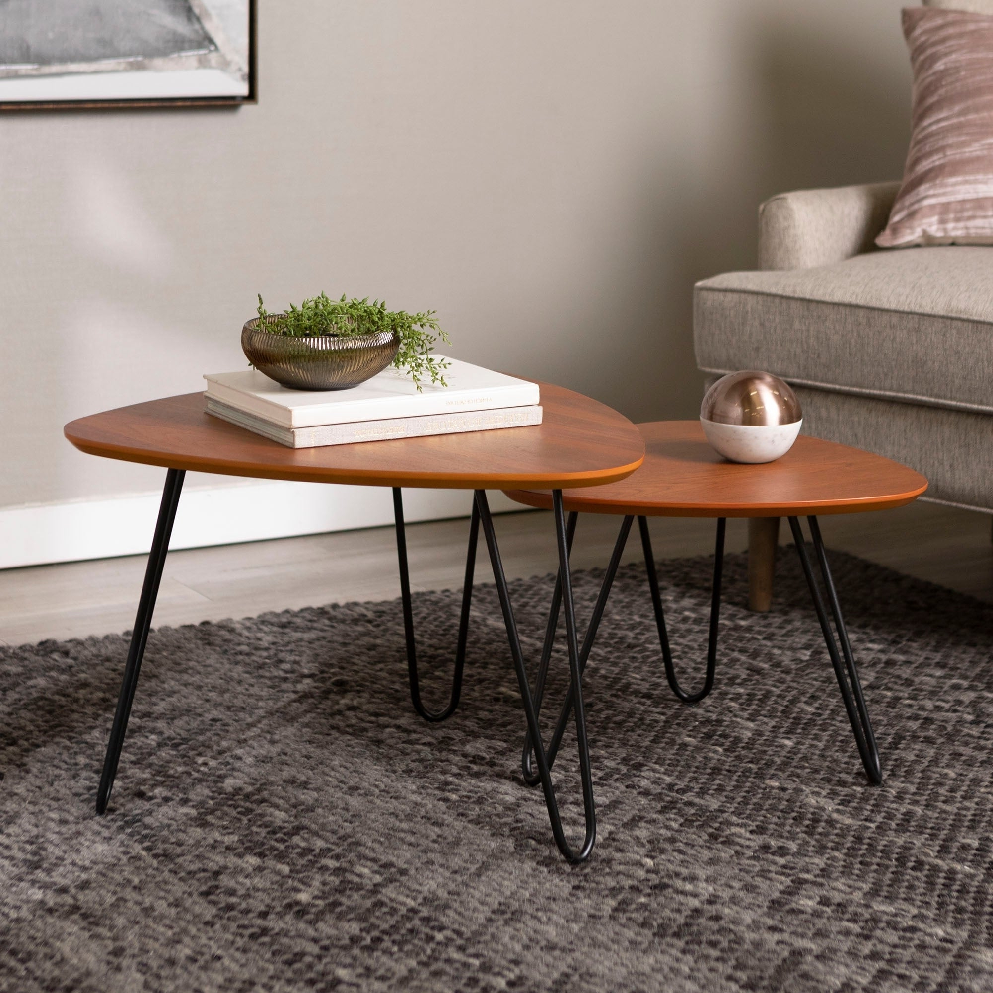 Featured Photo of Carson Carrington Arendal Guitar Pick Nesting Coffee Tables