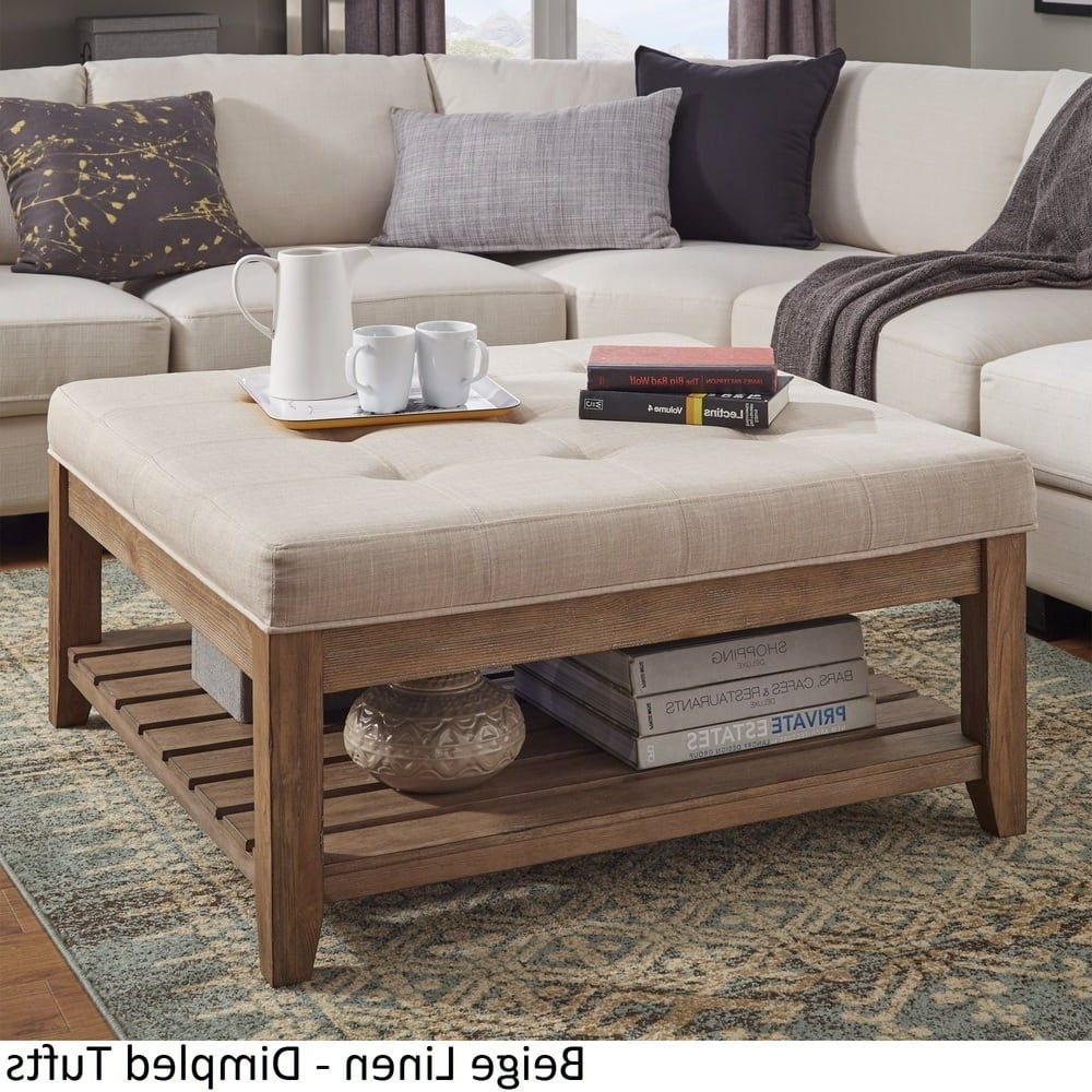 Newest Lennon Pine Planked Storage Ottoman Coffee Tables Inside Lennon Pine Planked Storage Ottoman Coffee Tableinspire (View 2 of 20)