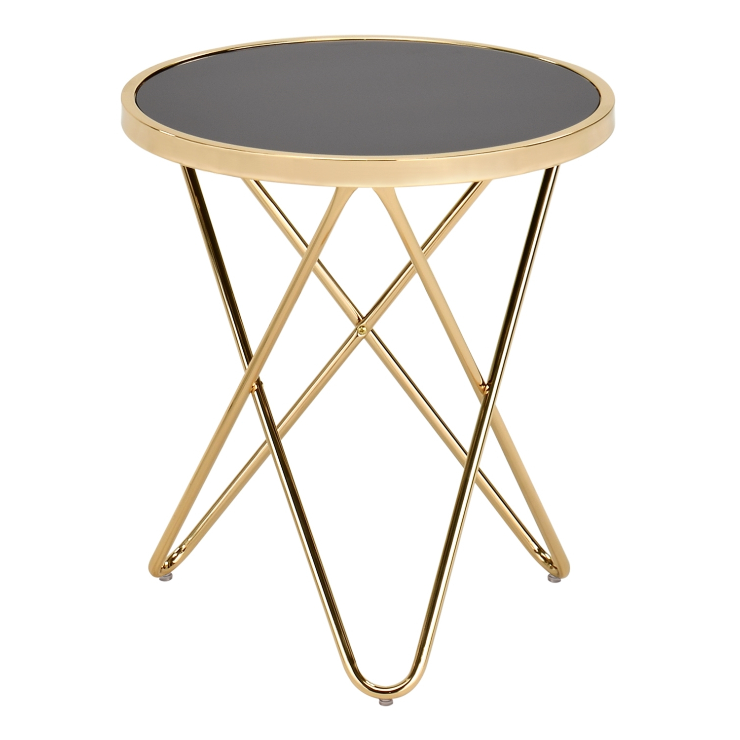 Newest Simple Living Manhattan Coffee Tables Inside Manhattan Copper Lamp Table (View 13 of 20)