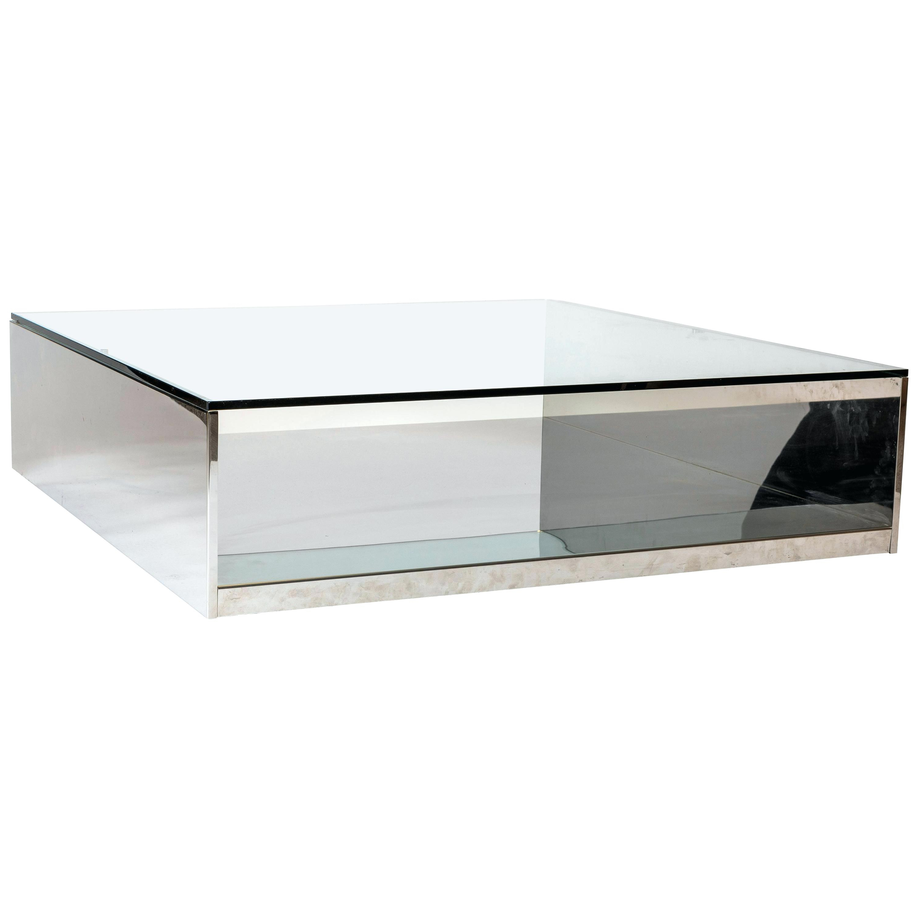 Newest Thalberg Contemporary Chrome Coffee Tables By Foa Throughout Chrome Coffee Tables – Ilianahalberg (View 11 of 20)