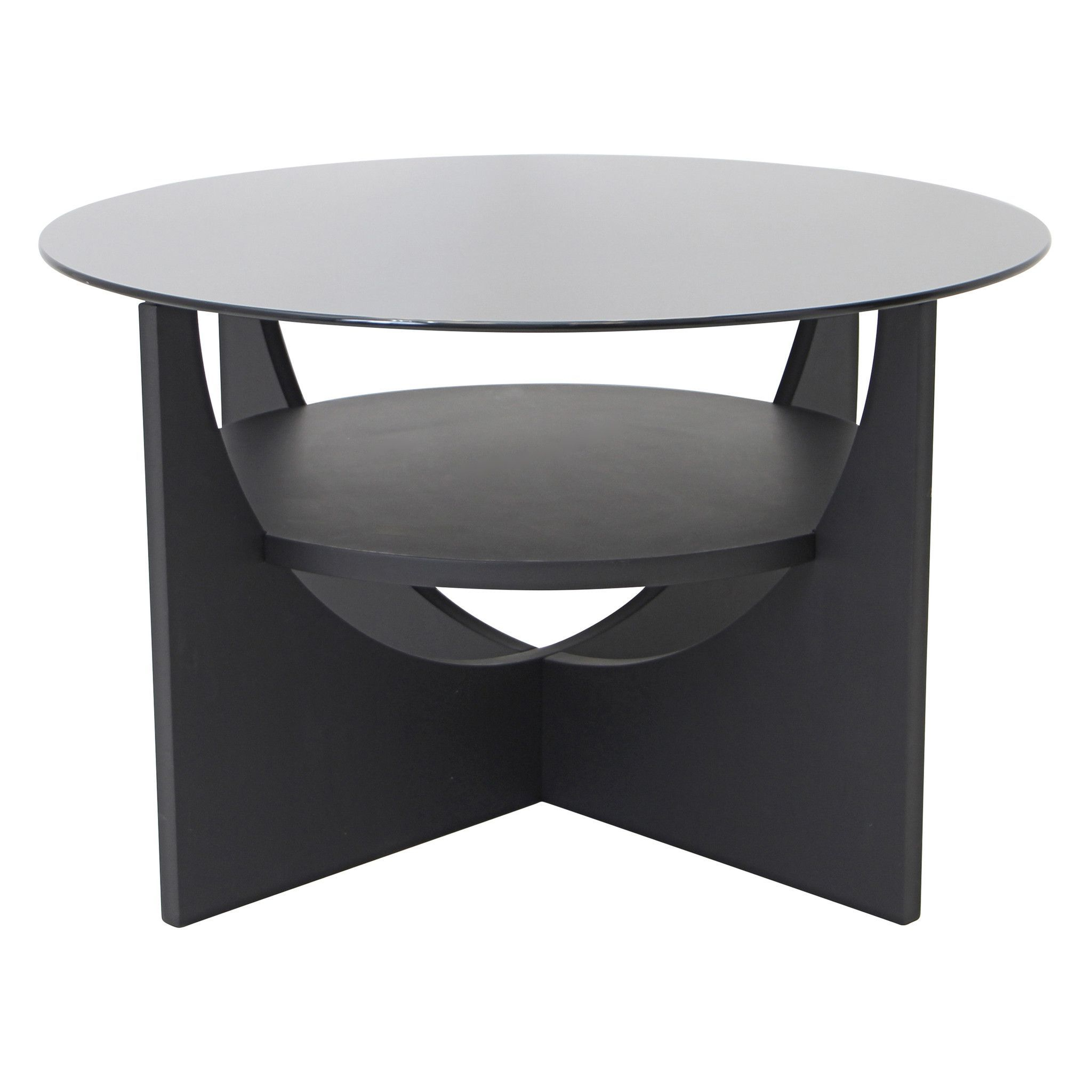 Newest Velma Modern Satin Plated Coffee Tables With Regard To Lumisource U Shaped Coffee Table (View 10 of 20)