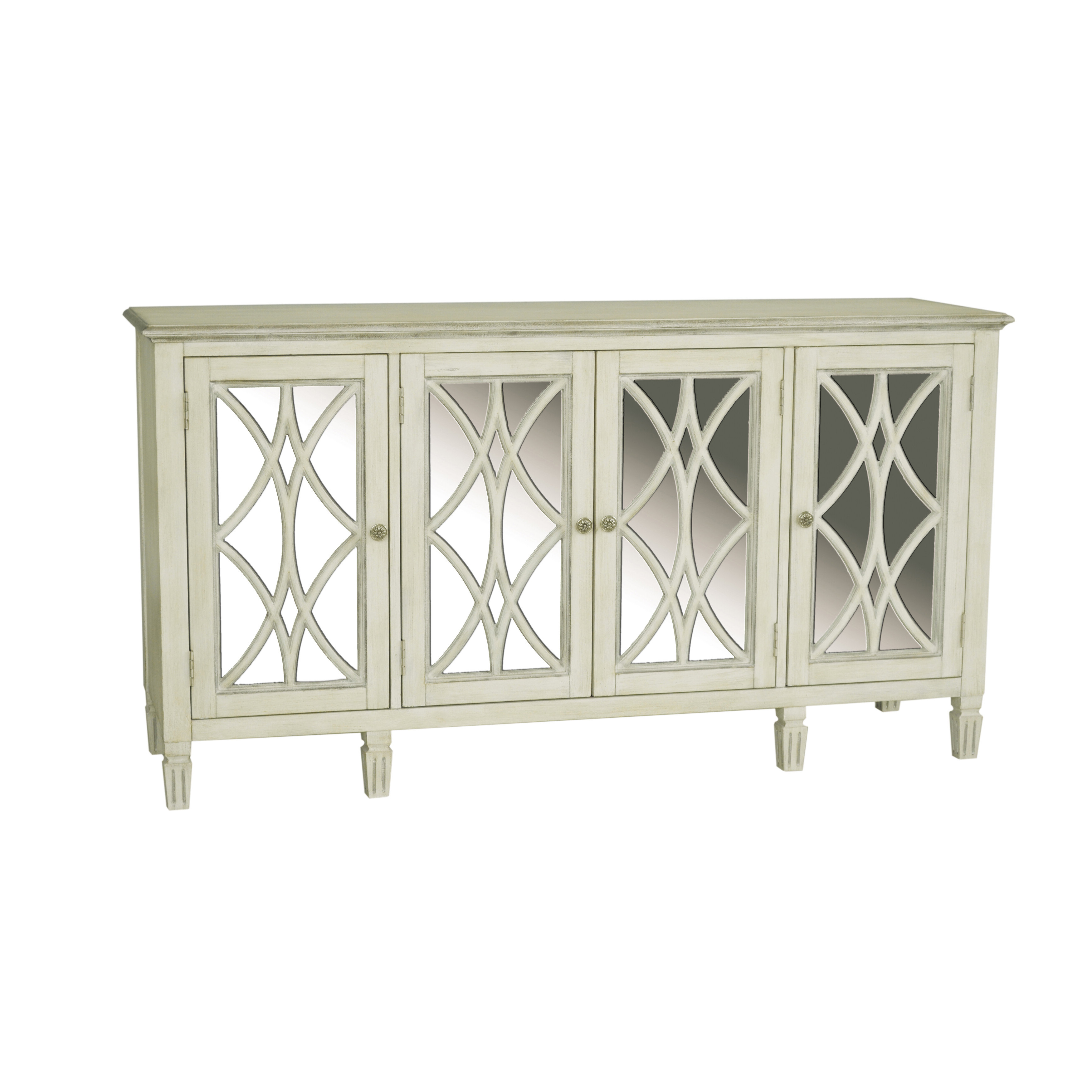 One Allium Way Driggs 4 Door Accent Cabinet In Kara 4 Door Accent Cabinets (View 18 of 20)