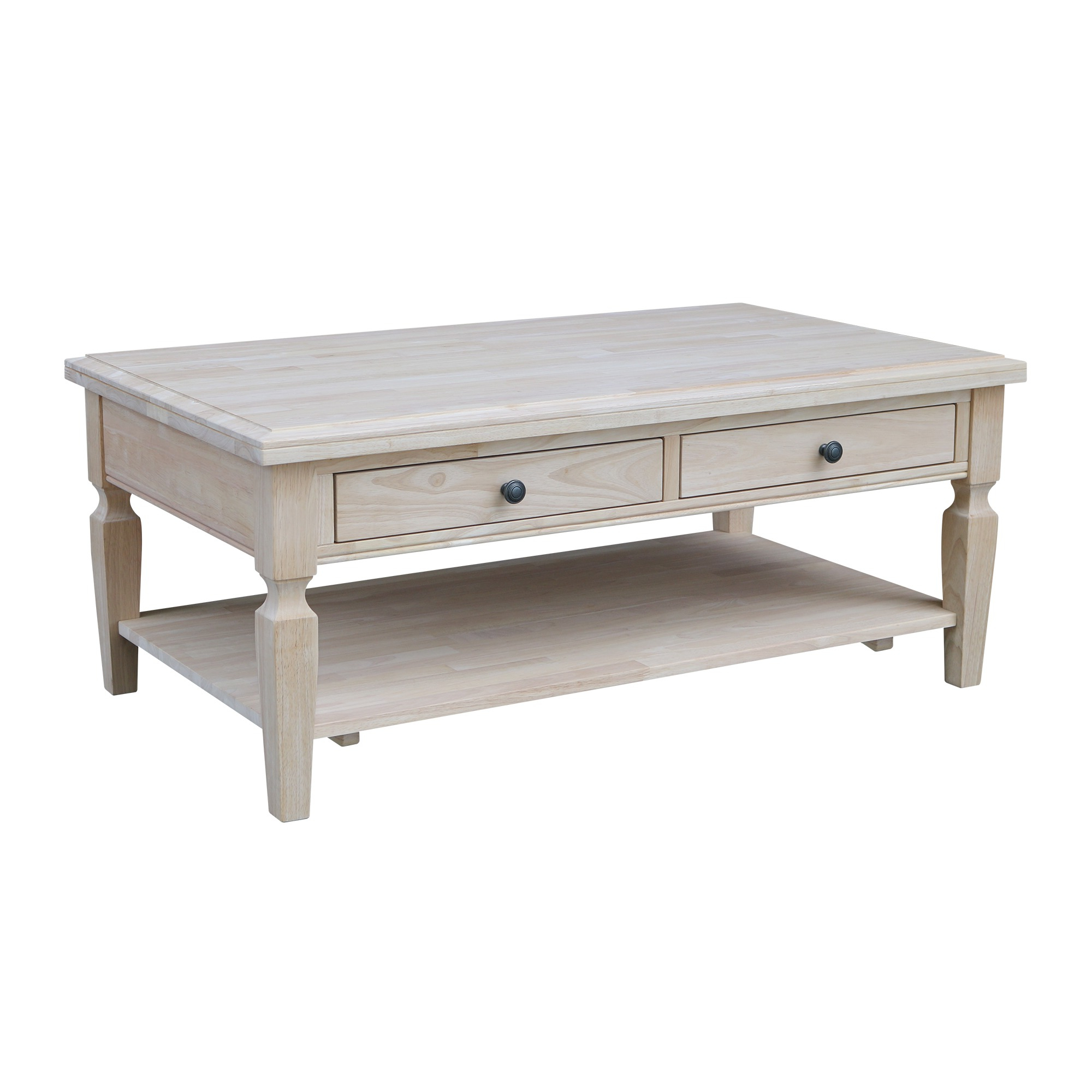 Ot 15C Vista Coffee Table W/ Free Shipping Within Fashionable Unfinished Solid Parawood Square Coffee Tables (View 9 of 20)