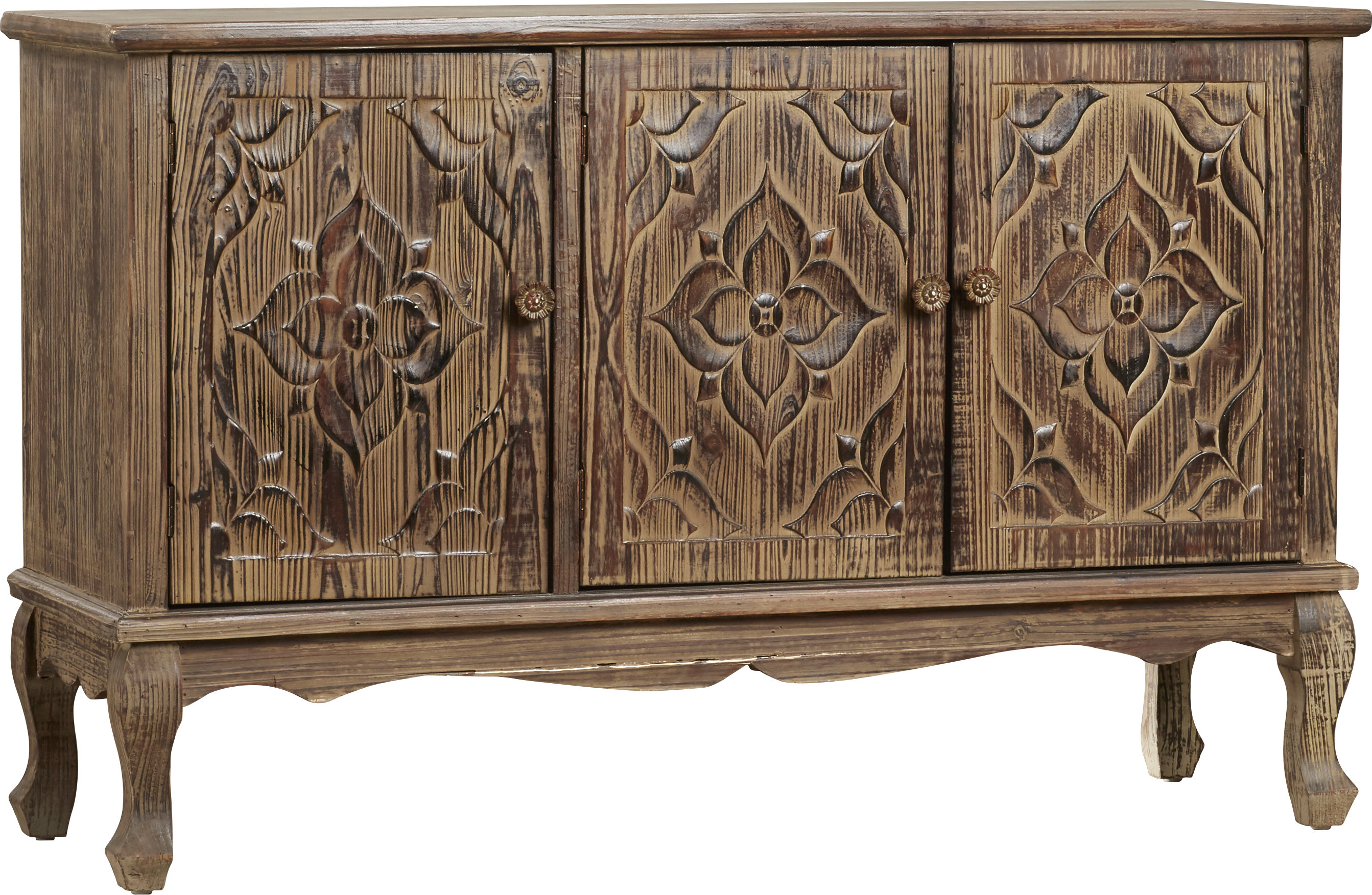 Ottinger 3 Door Server With Regard To Deville Russelle Sideboards (View 12 of 20)