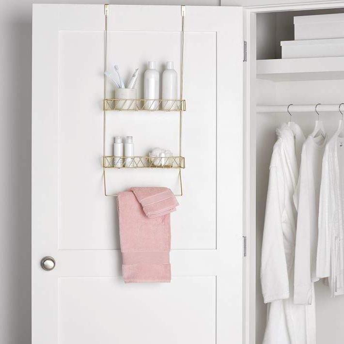 Over The Door Bathroom Storage With Recent Ermengarda Kitchen Pantry (View 14 of 20)