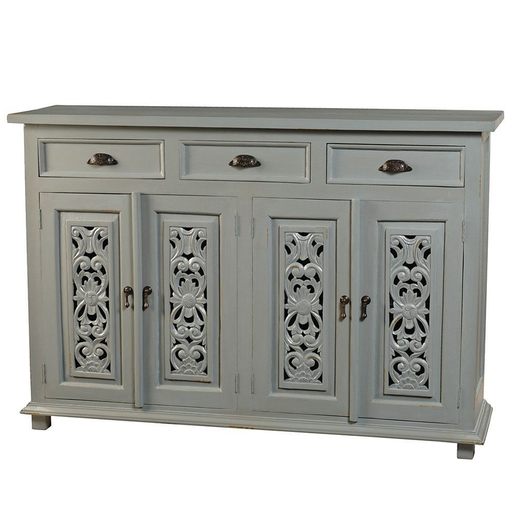 Owen Buffet, Glacier Gray | Products | Buffet, Dining Room With Emmaline Sideboards (View 13 of 20)