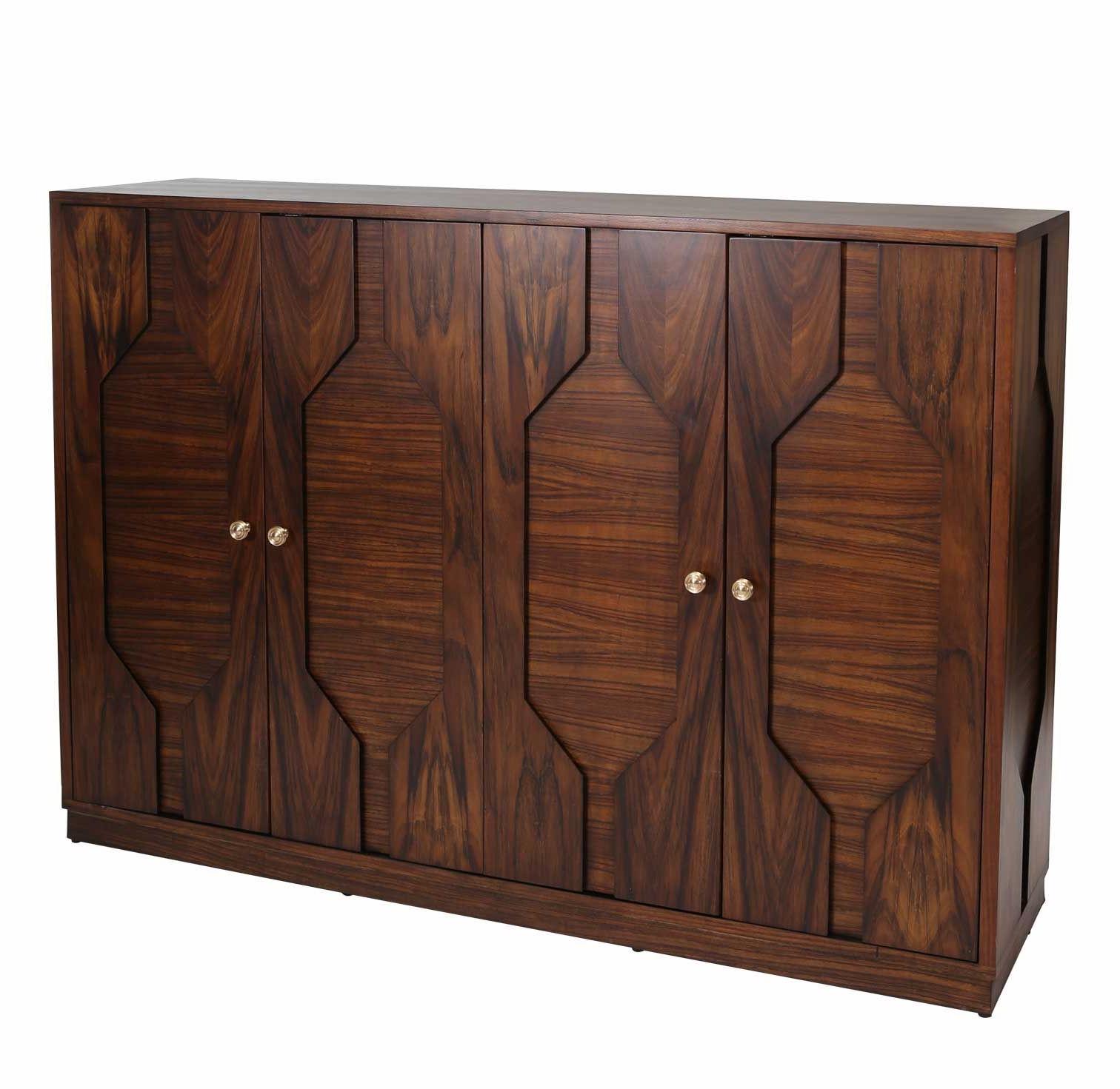 "Palisade 68"" Sideboard, Brown/gold Hooker Furniture One Inside Palisade Sideboards (View 11 of 20)"