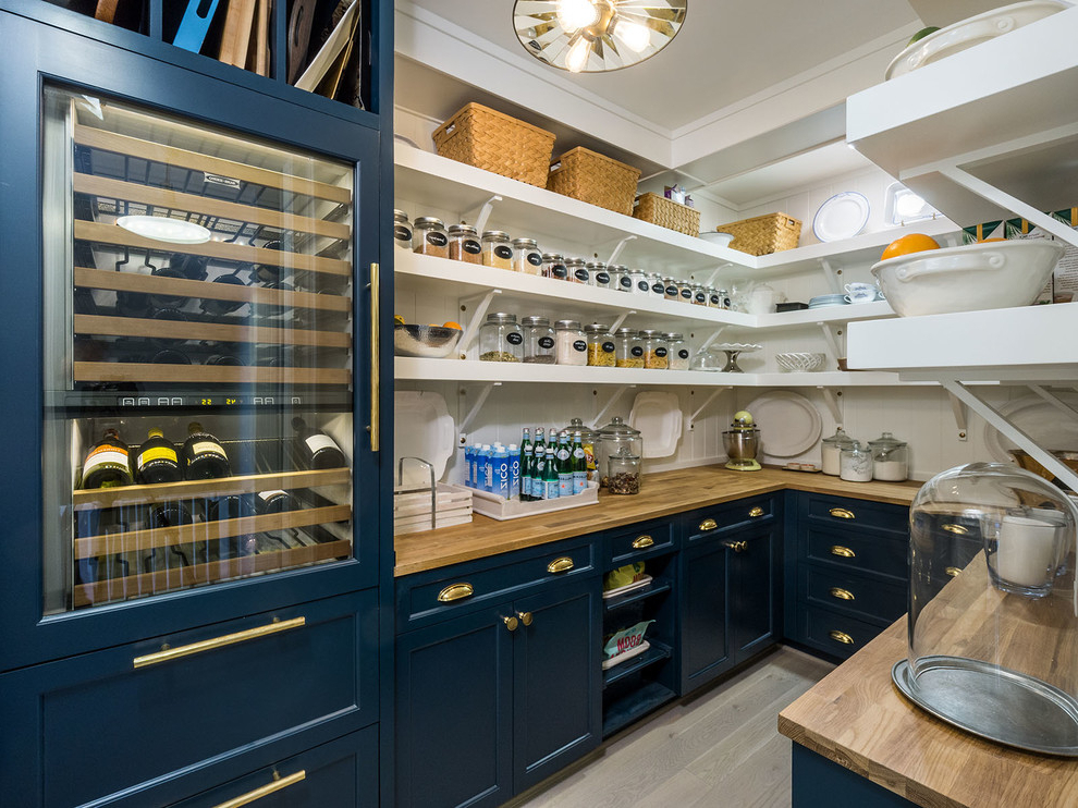 Featured Photo of Farmhouse Kitchen Pantry