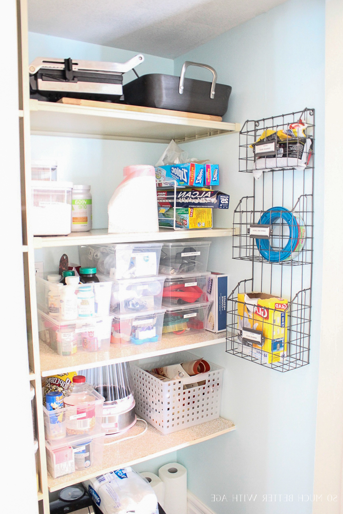 Pantry Reveal With Lots Of Tips (View 12 of 20)
