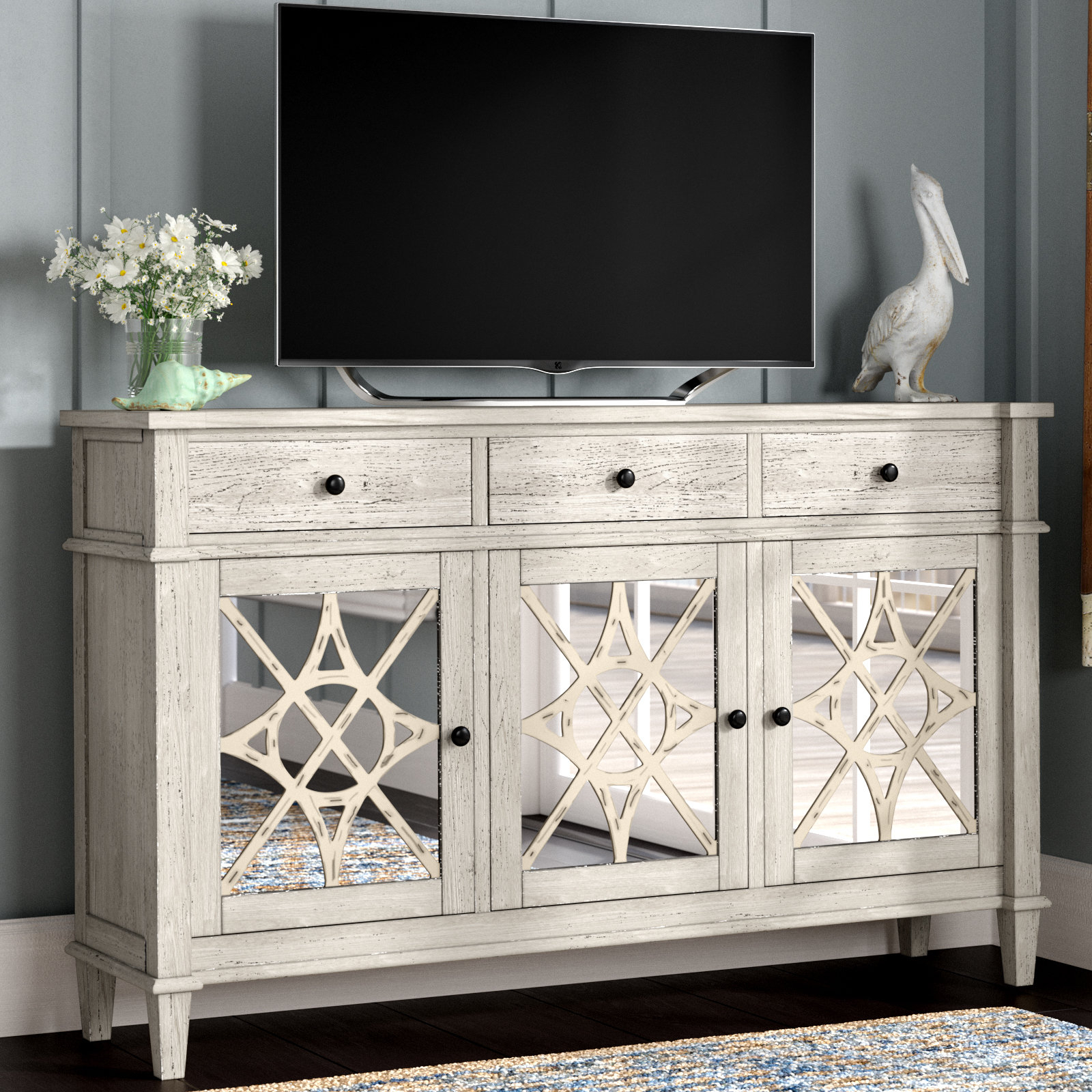 """Parmelee Tv Stand For Tvs Up To 65"""" In Parmelee Tv Stands For Tvs Up To 65"""" (View 3 of 20)"""