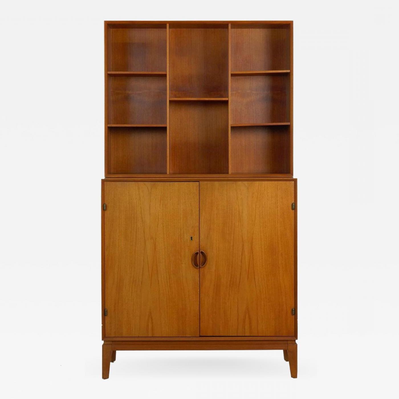Peter Hvidt & Orla Mølgaard Nielsen – Peter Hvidt & Orla Mørlgaard For John Stuart Mid Century Modern Bookcase Cabinet For Stephen Credenzas (View 10 of 20)