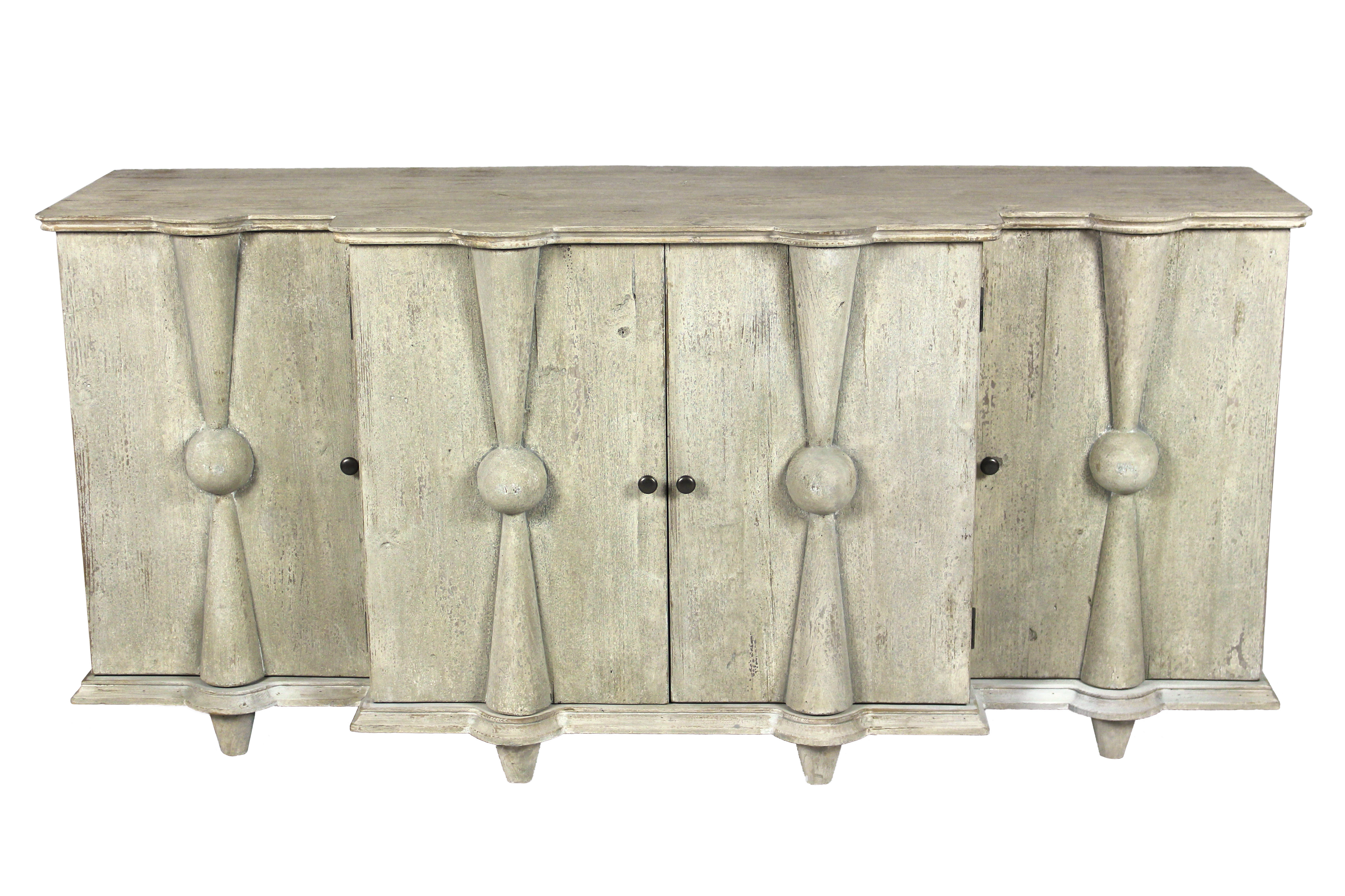 Pine Reclaimed Wood Sideboards & Buffets You'll Love In 2019 Within Steinhatchee Reclaimed Pine 4 Door Sideboards (View 7 of 20)