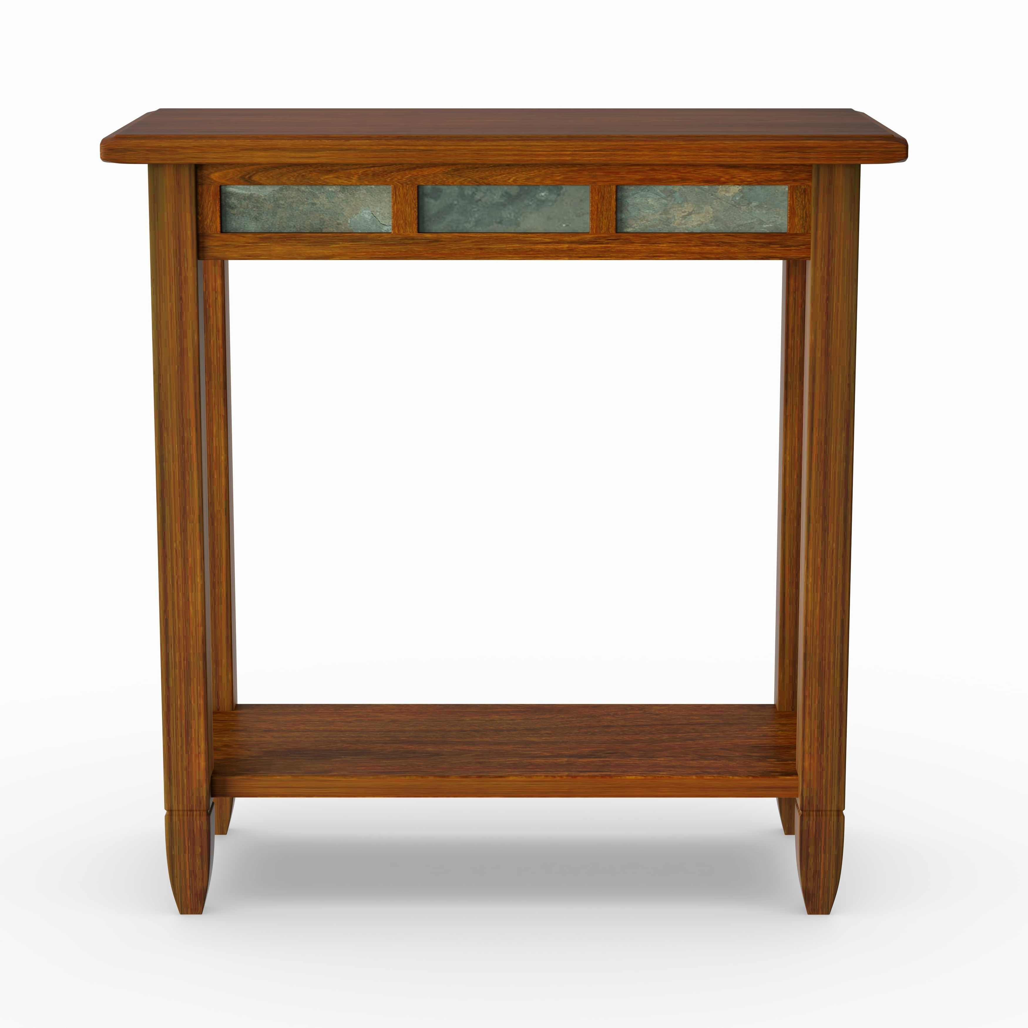 Popular Copper Grove Ixia Rustic Oak And Slate Tile Coffee Tables Pertaining To Copper Grove Ixia Rustic Oak And Slate Tile Chairside Table (View 2 of 20)