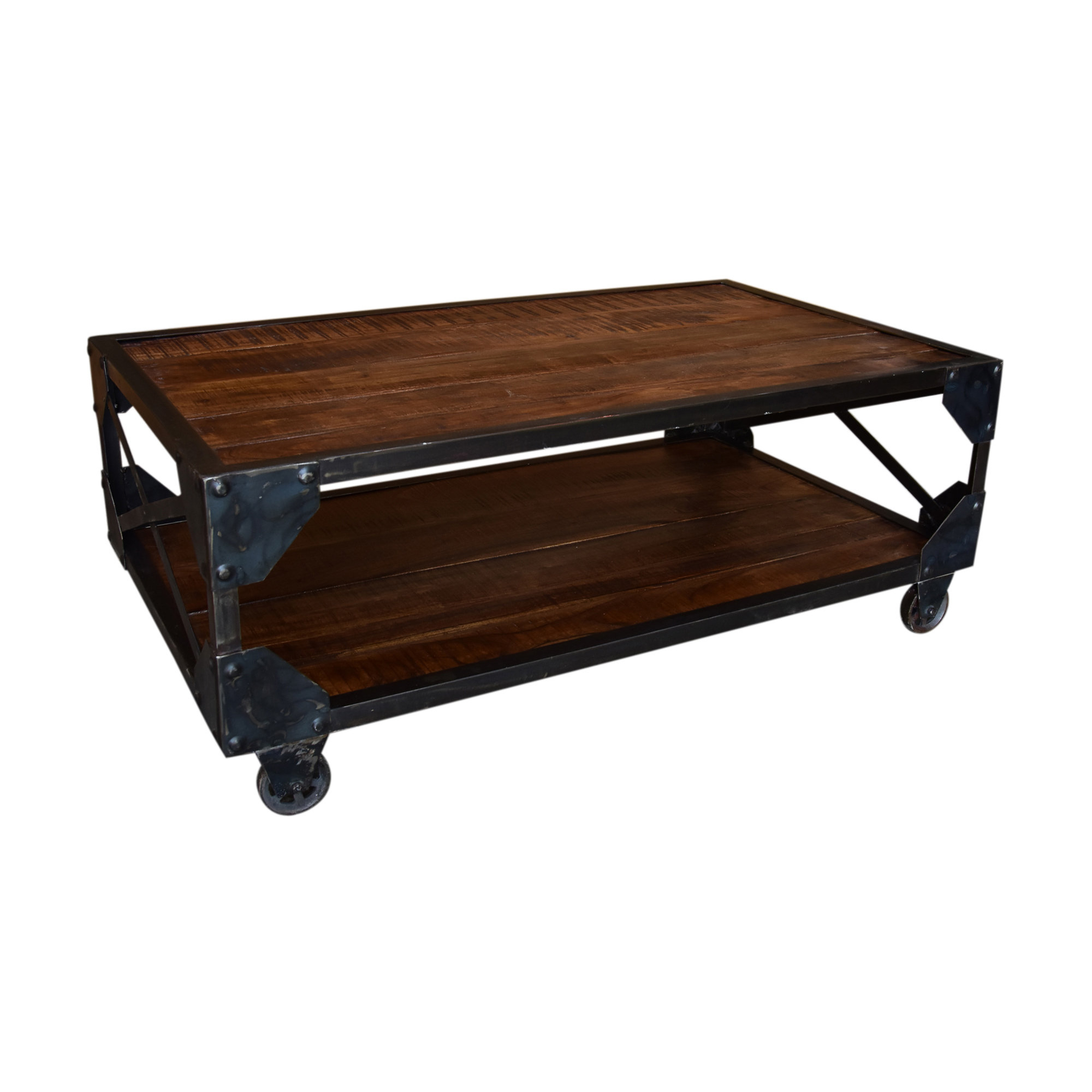 Popular Dravens Industrial Cherry Coffee Tables With Regard To Adalynn Coffee Table (View 14 of 20)