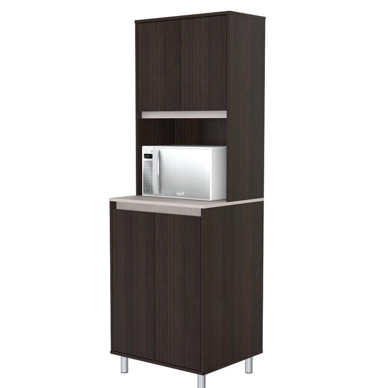 """Popular Suniga Breakroom 4 Door 71"""" Kitchen Pantry With Slemp Kitchen Pantry (View 8 of 20)"""