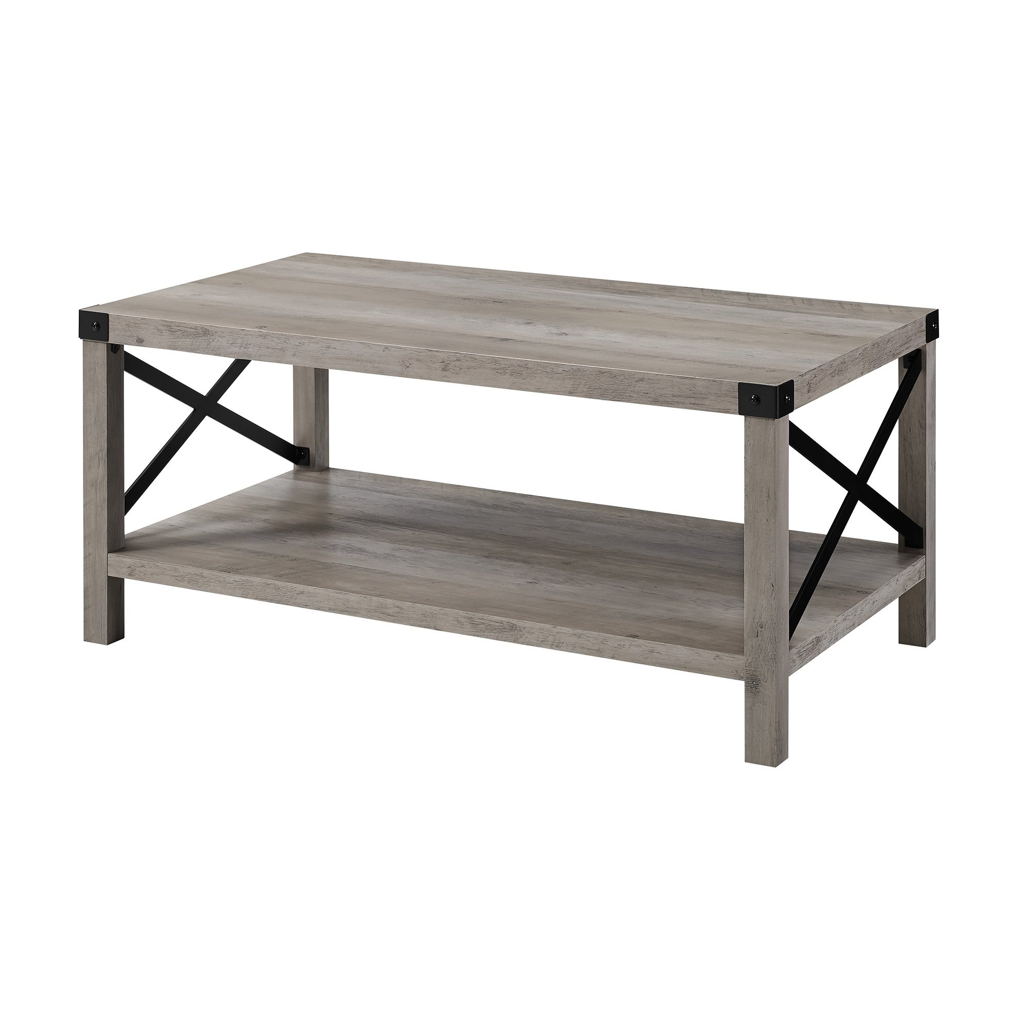 Popular The Gray Barn Kujawa Metal X Coffee Tables – 40 X 22 X 18h Within The Gray Barn Kujawa Metal X Coffee Table – 40 X 22 X 18h (View 2 of 20)