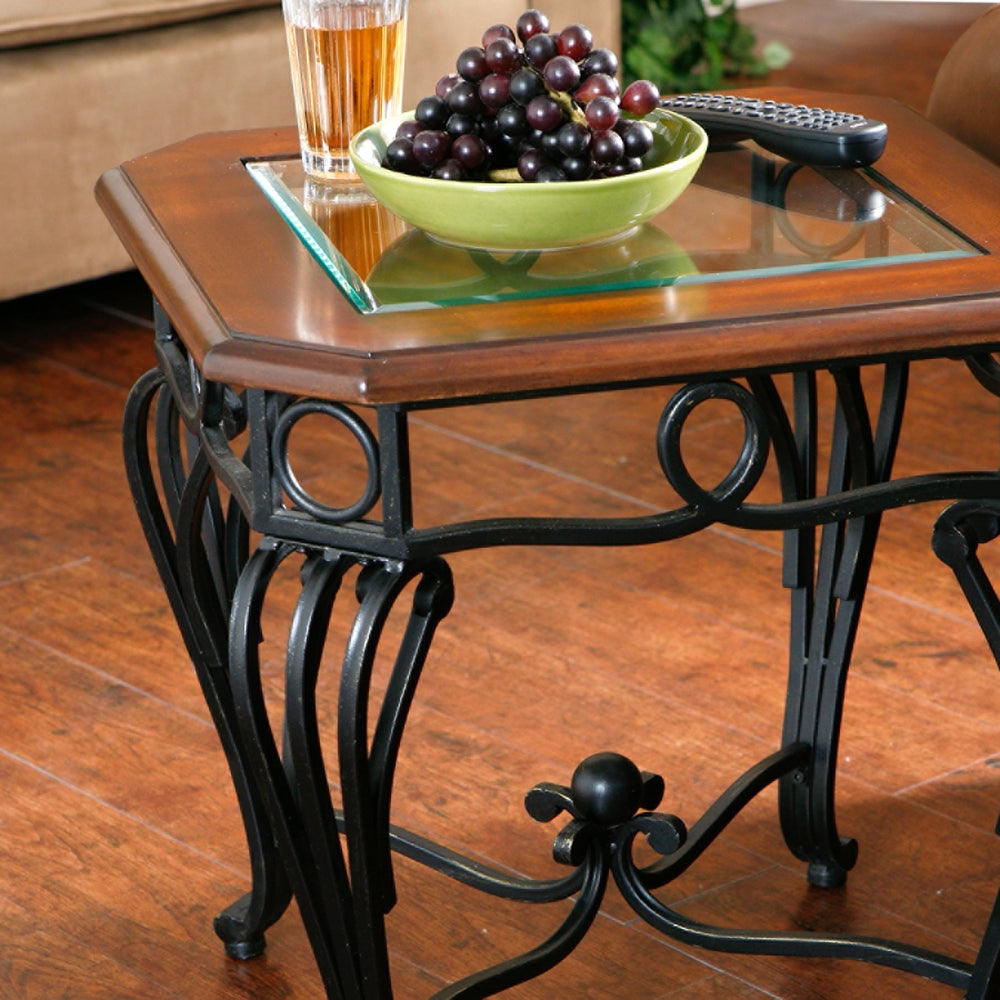 Preferred Gracewood Hollow Salinger Prentice Cocktail Tables With Regard To Gracewood Hollow Salinger Glass Top End Table (View 6 of 20)