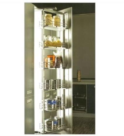Preferred Lotus Kitchen Pantry Throughout Lotus Premium Revolving Tall Unit – Buildingandinteriors (View 18 of 20)