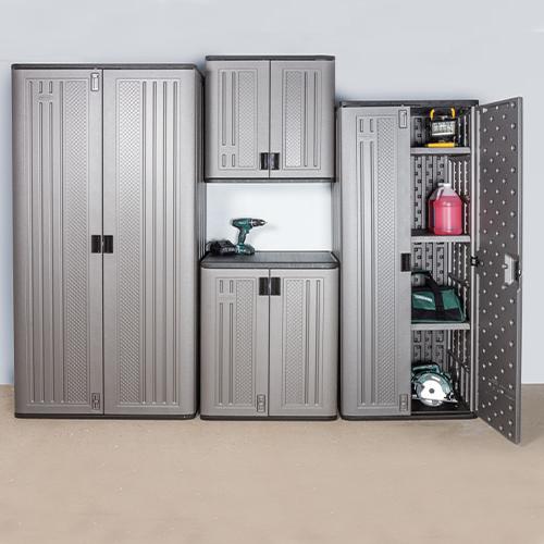 Preferred Tiberius Door Storage Cabinet Regarding Storage & Organization At Menards® (View 10 of 20)