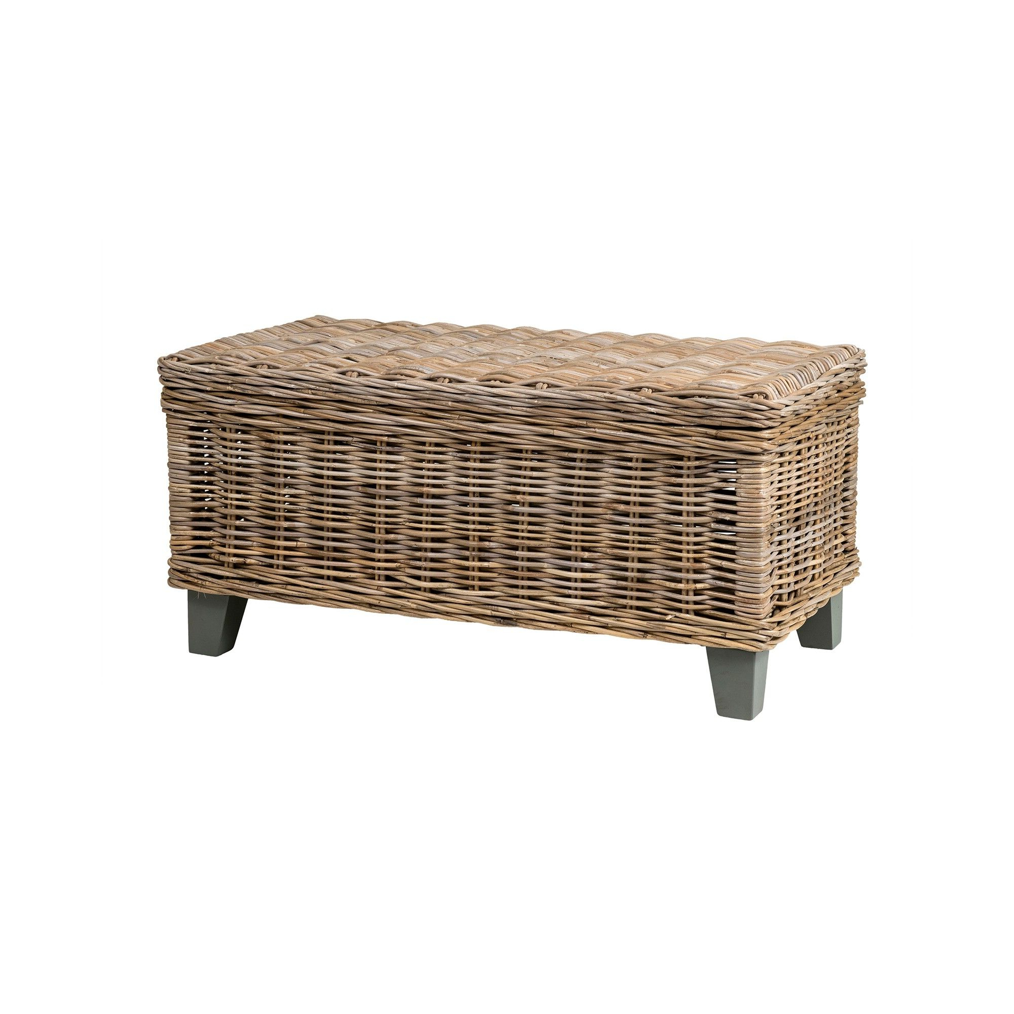 Products Pertaining To Latest Rustic Coffee Tables With Wicker Storage Baskets (View 8 of 20)
