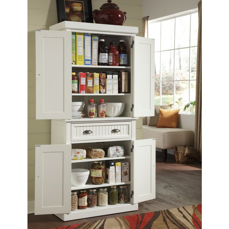 """Rabin Kitchen Pantry Regarding Best And Newest Rabin 72"""" Kitchen Pantry (View 8 of 20)"""