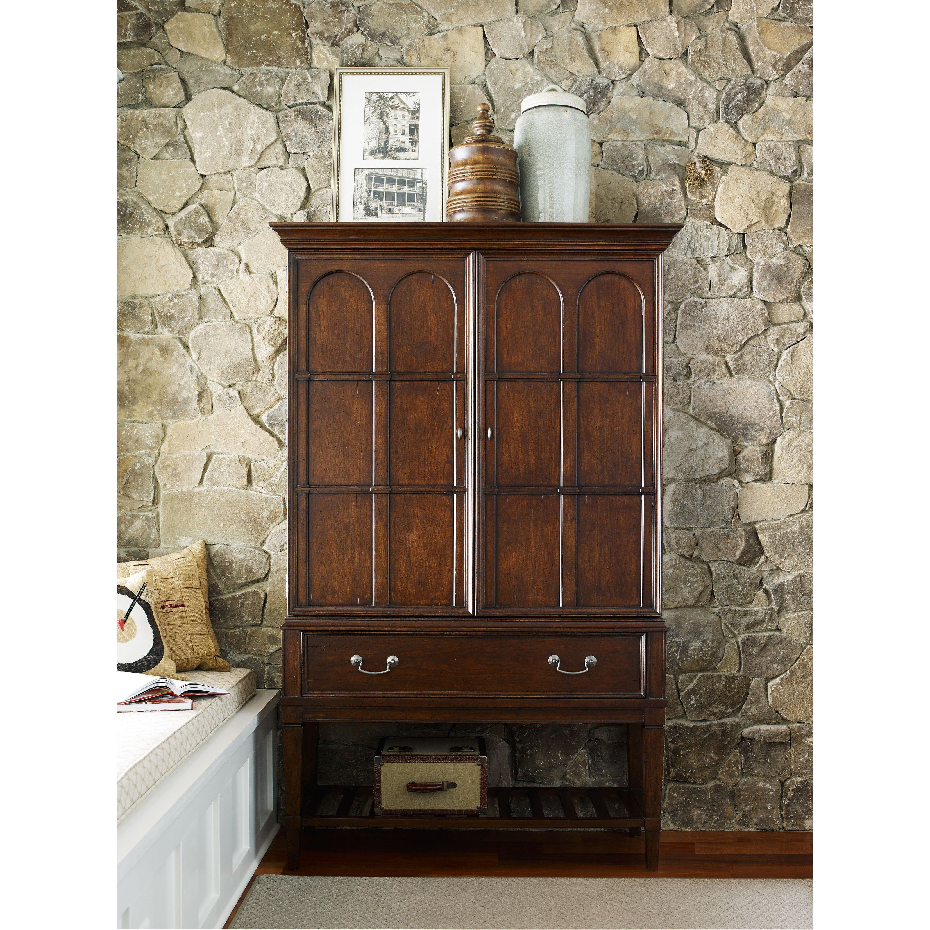 Rachael Ray Upstatelegacy Classic Bar Cabinet – 6040 155 Intended For Arminta Wood Sideboards (View 12 of 20)