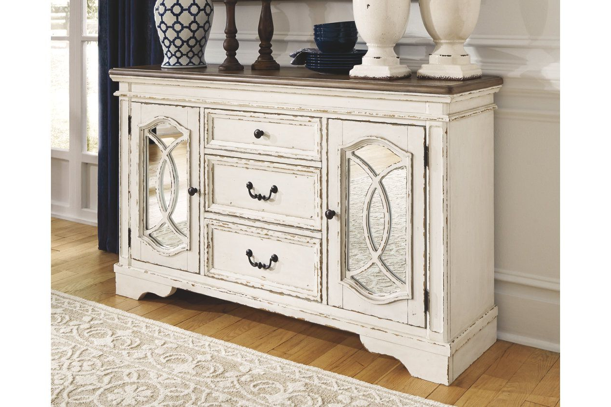 Realyn Dining Room Server | Ashley Furniture Homestore Inside Tiphaine Sideboards (View 17 of 20)