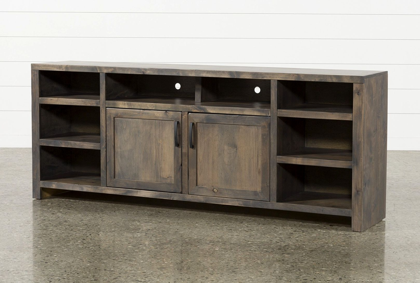 Recent Gracewood Hollow Dones Traditional Cinnamon Round End Tables With Tiles 84 Tv Stand – Krakendesign (View 14 of 20)