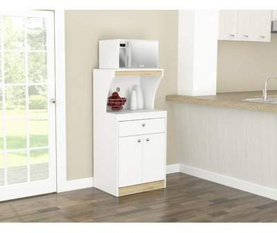 "Red Barrel Studio Elliana Storage 47"" Kitchen Pantry Red Barrel Studio In Well Liked Canina Kitchen Pantry (View 14 of 20)"