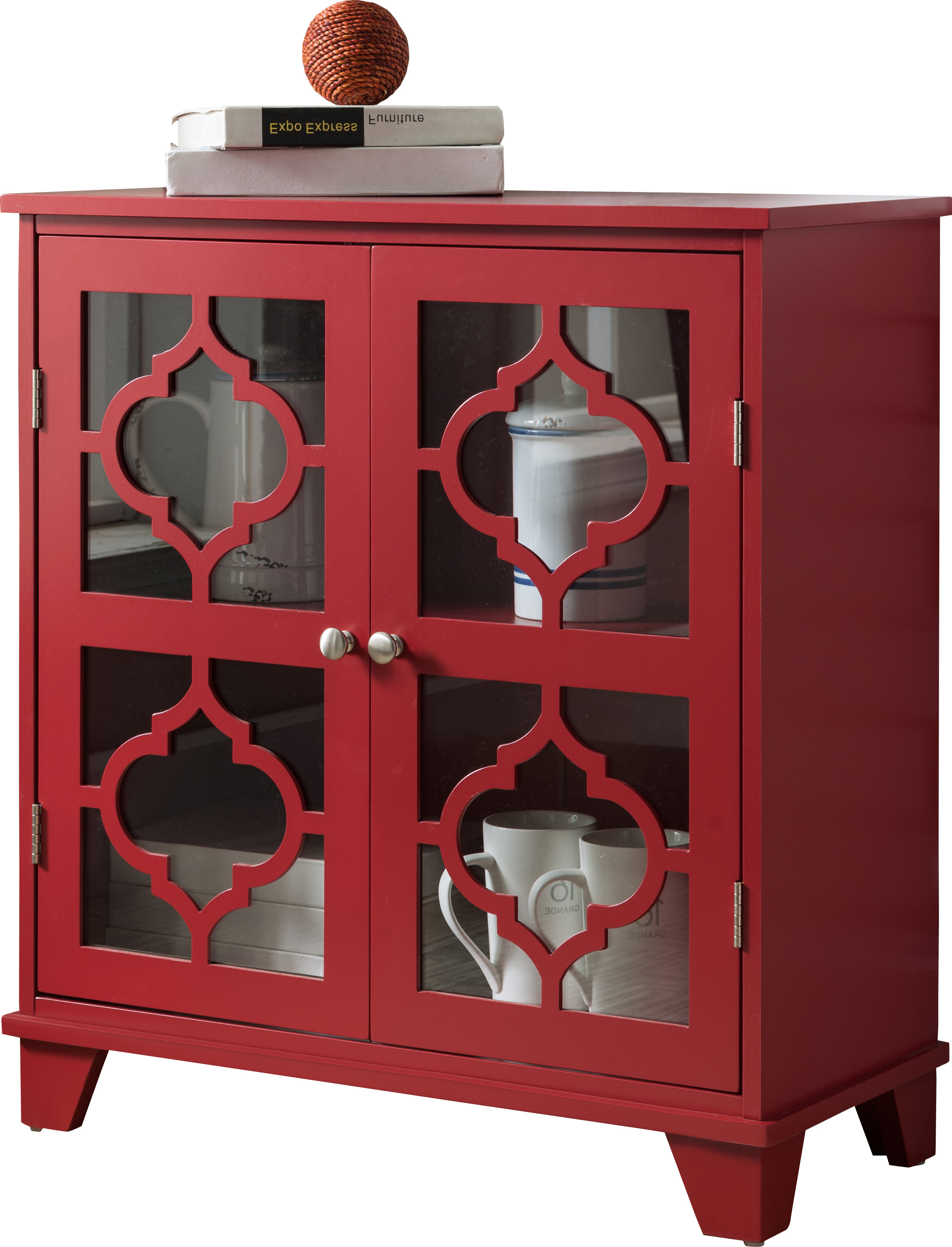 Red Sideboards & Buffets | Joss & Main In Candace Door Credenzas (View 18 of 20)