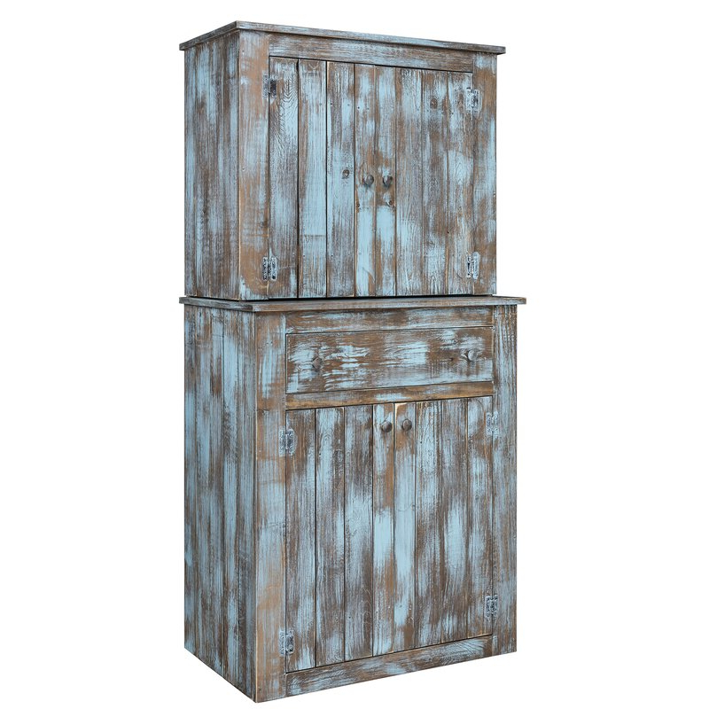 """Ridenhour Kitchen Pantry Throughout 2020 Chastain Hutch 72"""" Kitchen Pantry (View 10 of 20)"""