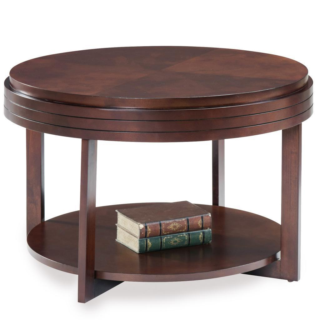 Round Condo/ Apartment Coffee Table In Popular Copper Grove Halesia Chocolate Bronze Round Coffee Tables (View 7 of 20)