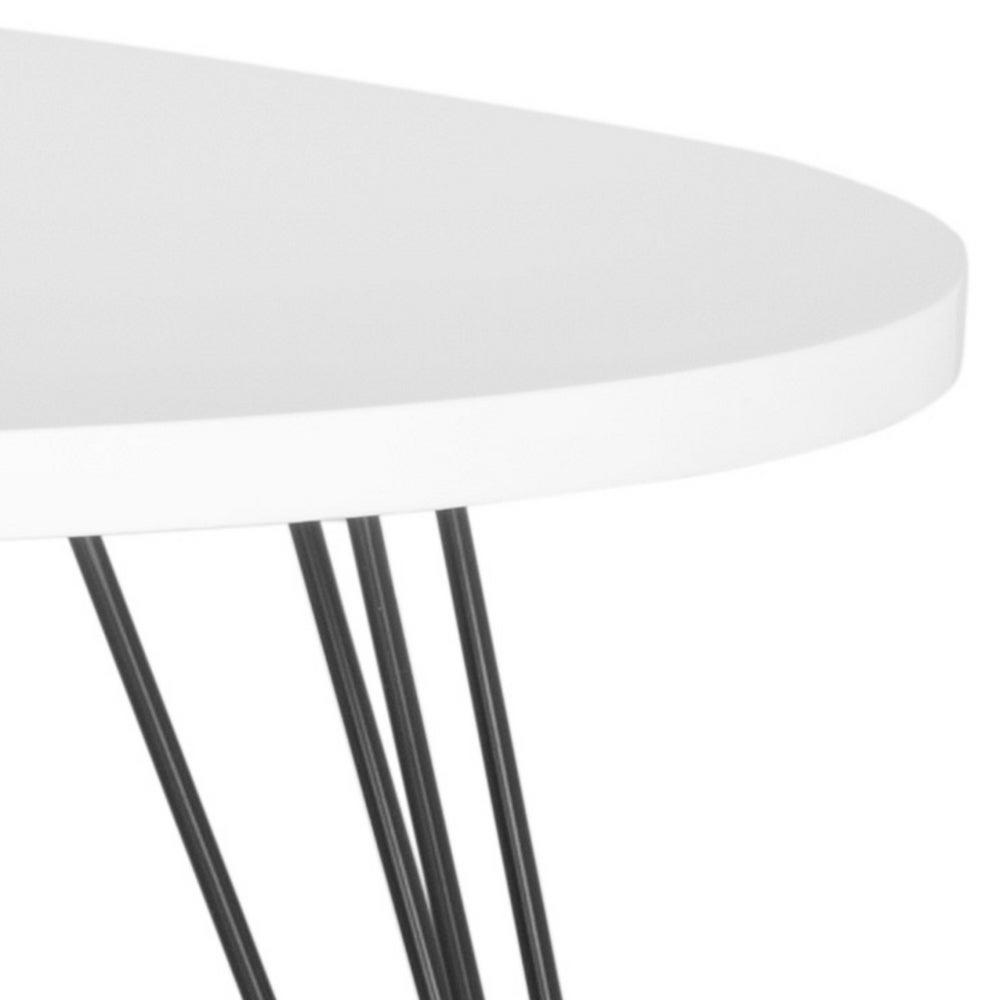 "Safavieh Mid Century Wynton White/ Black Lacquer Modern Coffee Table – 44"" X 31.5"" X (View 5 of 20)"