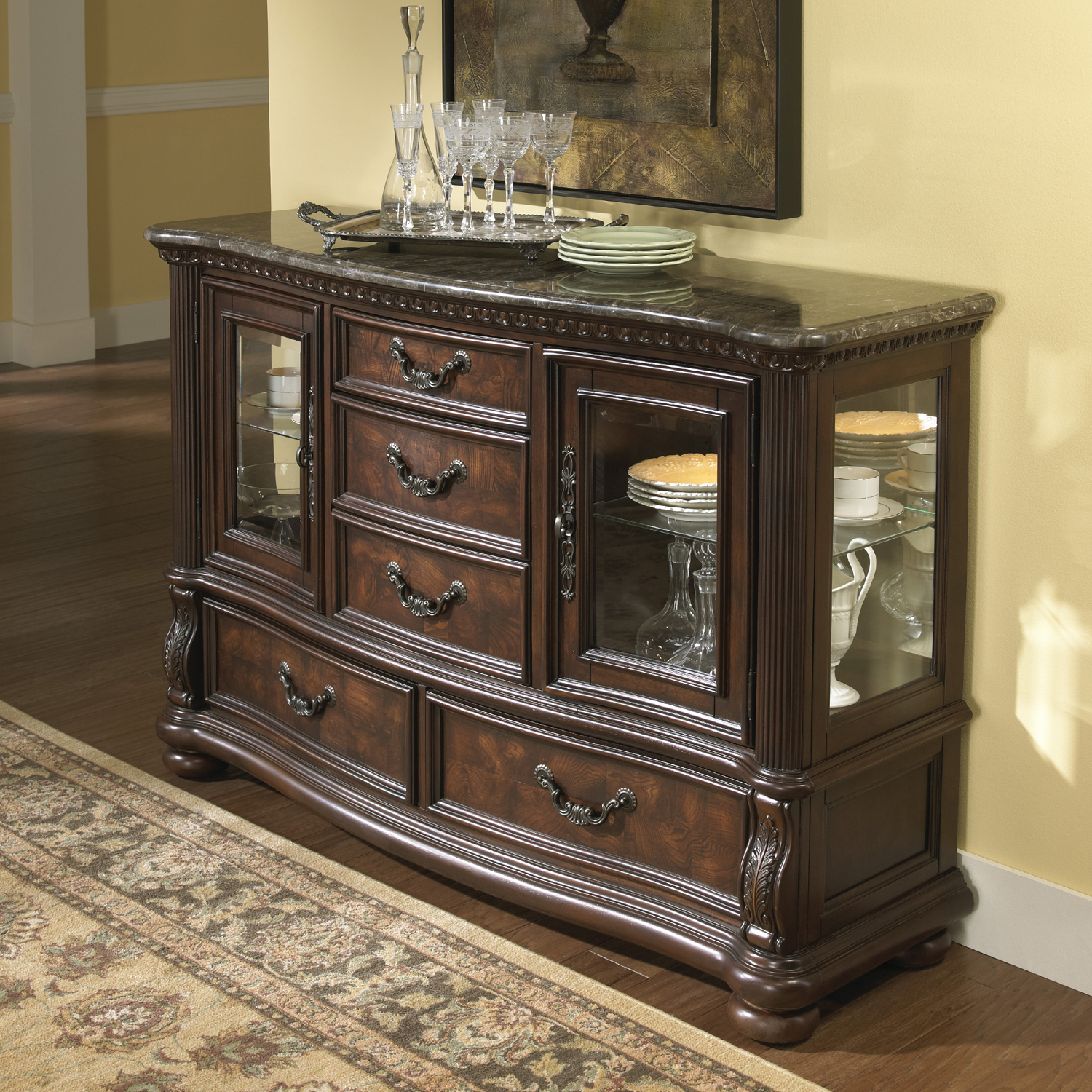 San Marino Credenza | Samuel Lawrence | Home Gallery Stores Throughout Weinberger Sideboards (View 7 of 20)