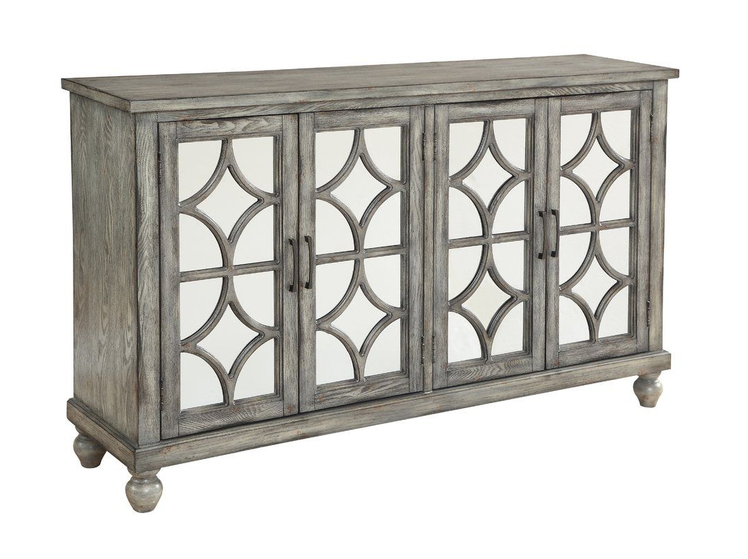 Serafino Media Credenza | Dining Room In 2019 | Furniture For Raquette Sideboards (View 14 of 20)